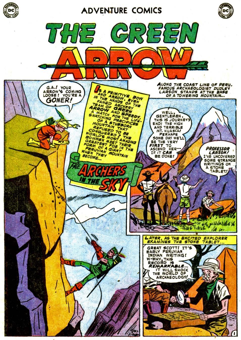 Read online Adventure Comics (1938) comic -  Issue #184 - 34