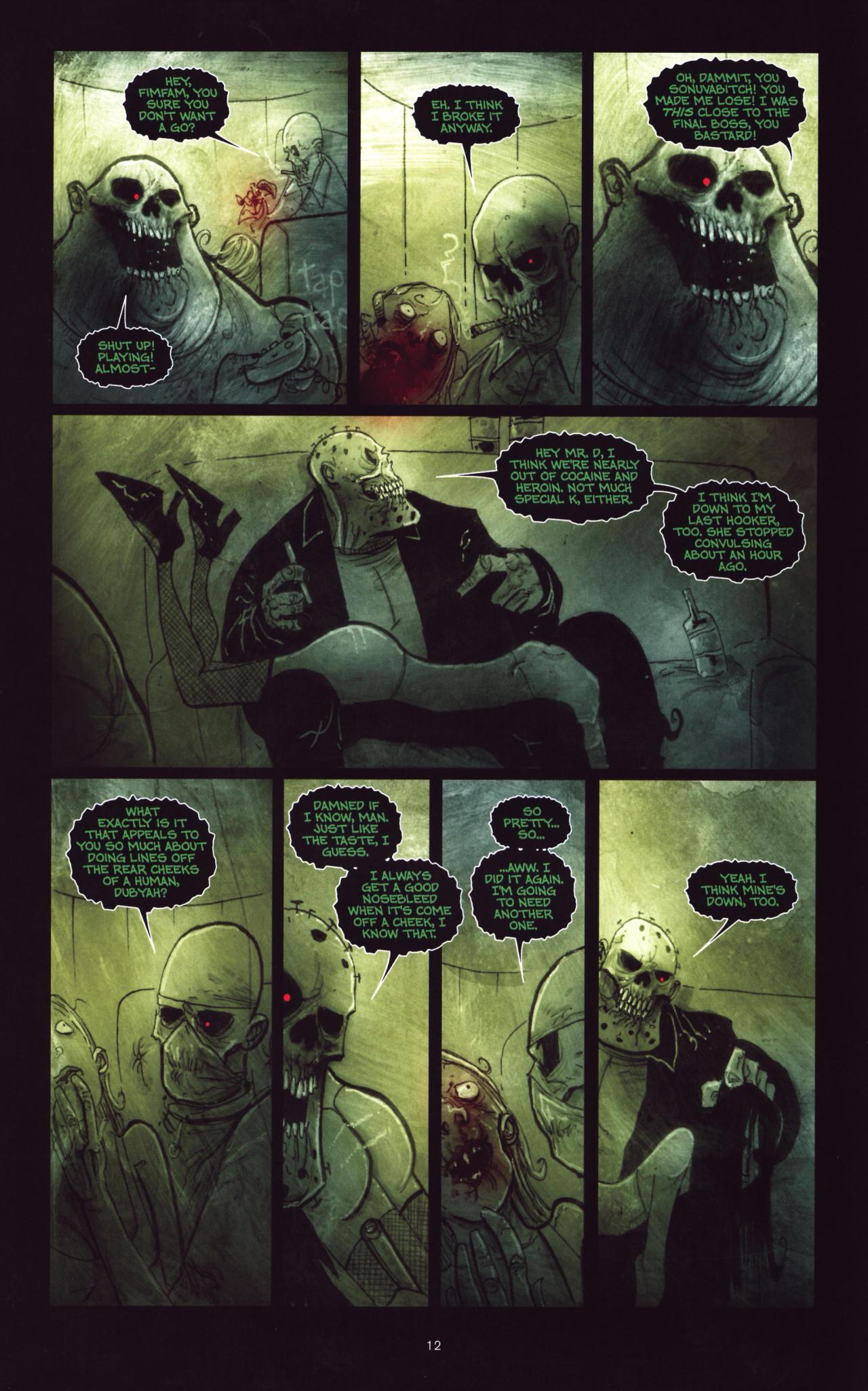 Read online Wormwood: Gentleman Corpse comic -  Issue #8 - 13