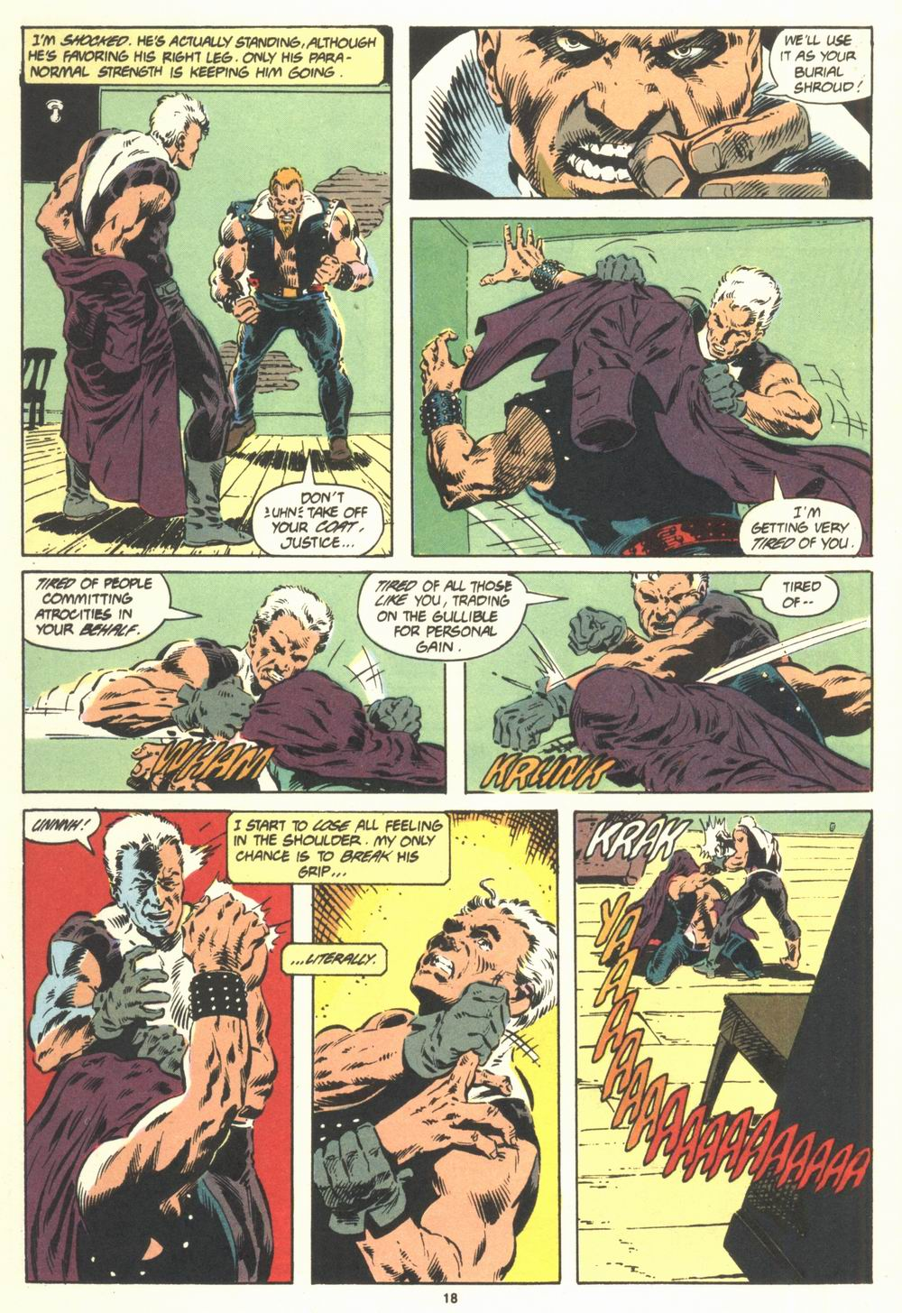 Read online Justice (1986) comic -  Issue #19 - 20