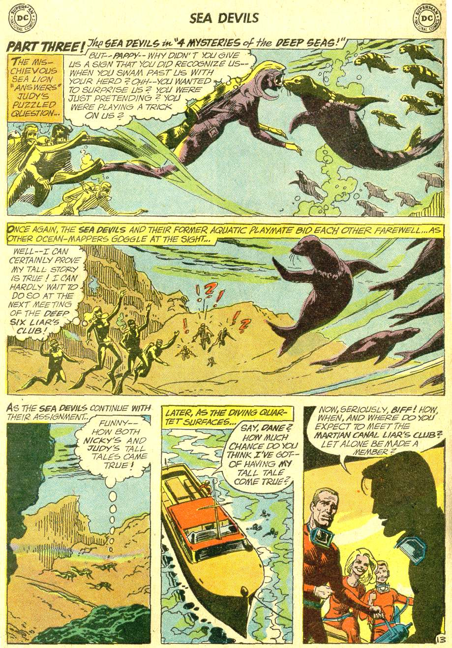 Read online Sea Devils comic -  Issue #10 - 21