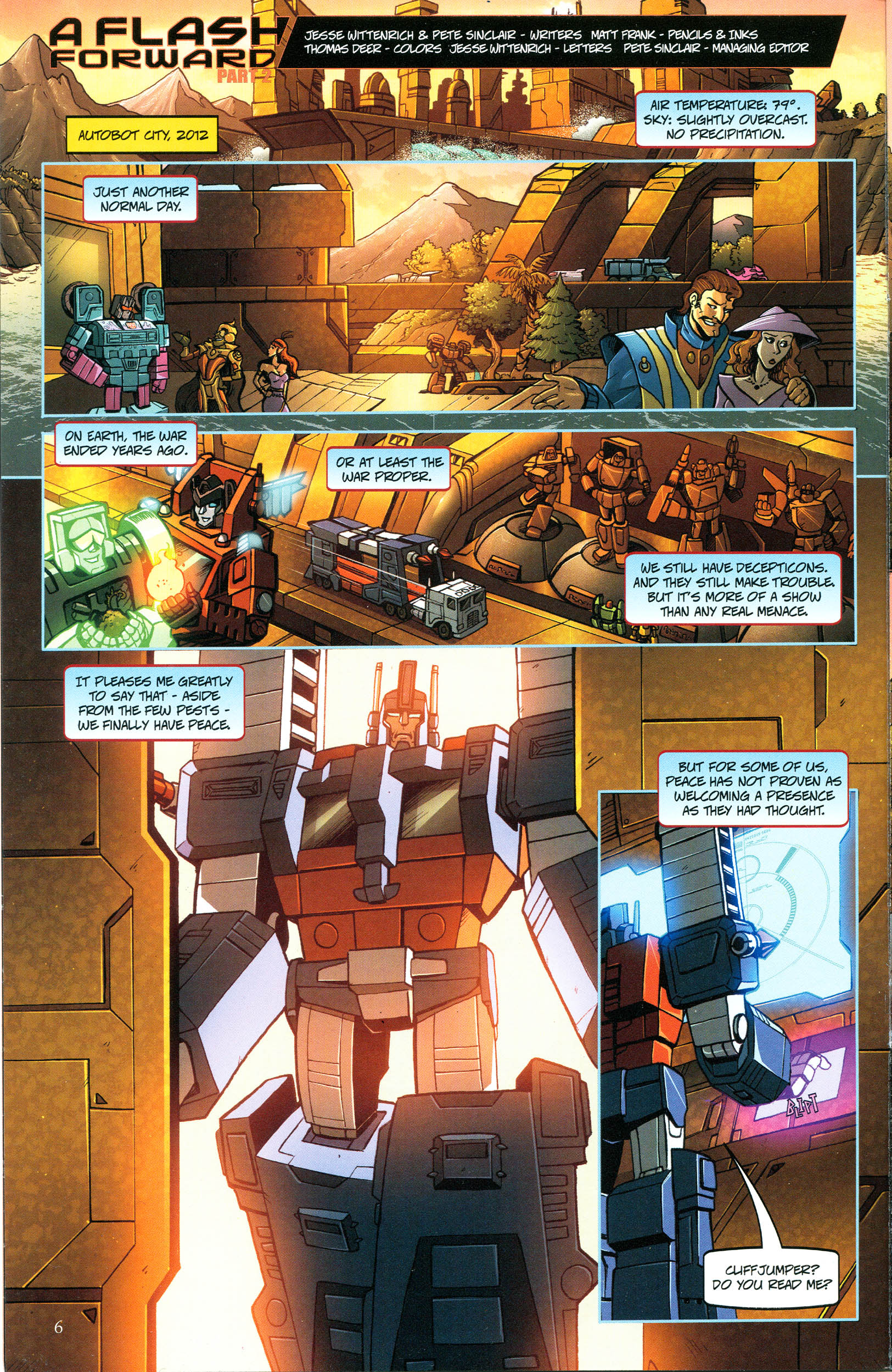 Read online Transformers: Collectors' Club comic -  Issue #44 - 6