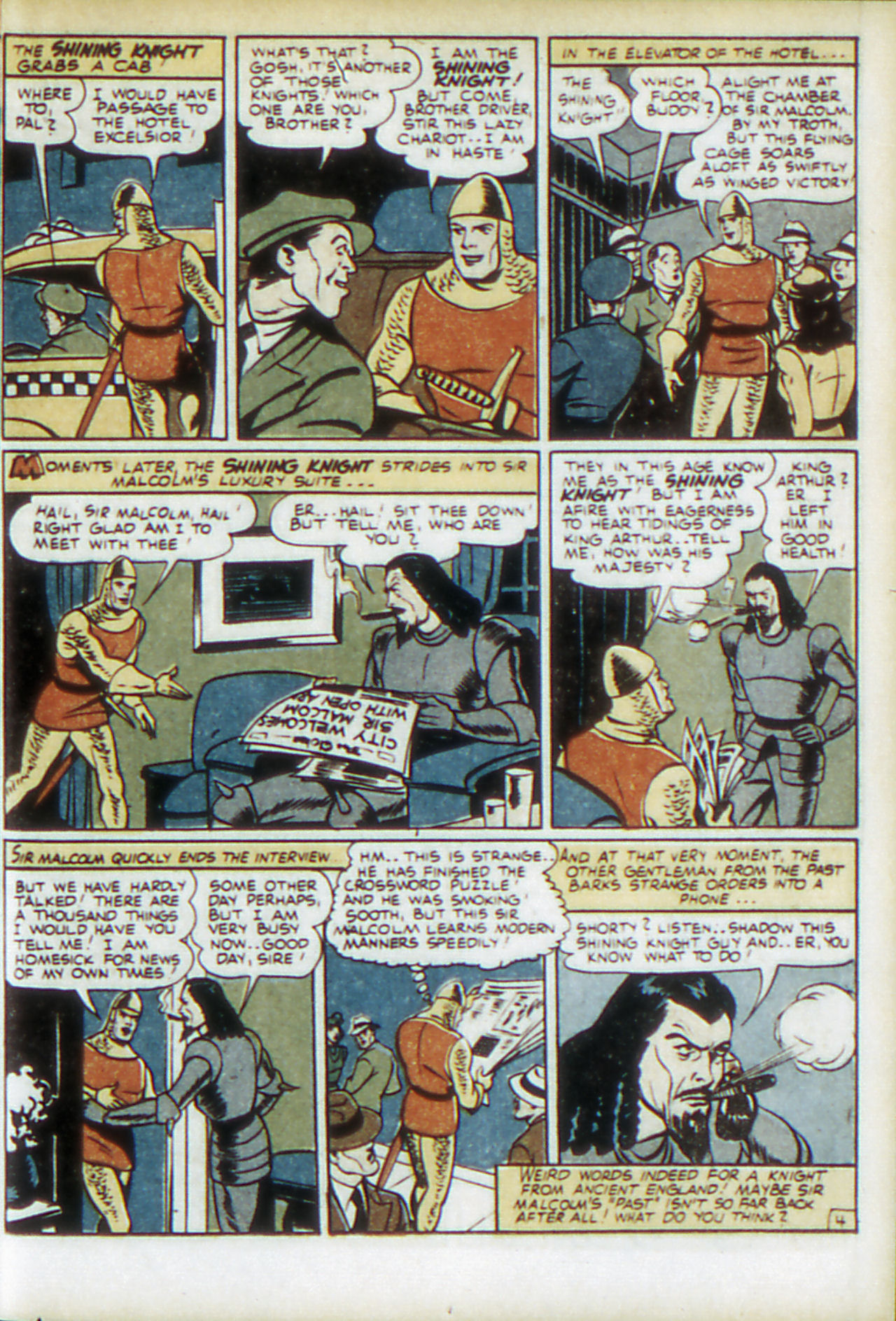 Read online Adventure Comics (1938) comic -  Issue #78 - 38