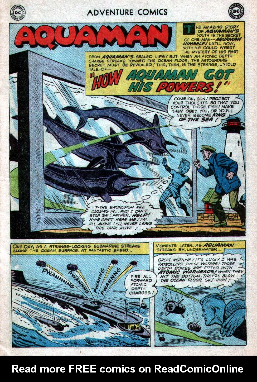 Read online Adventure Comics (1938) comic -  Issue #260 - 17