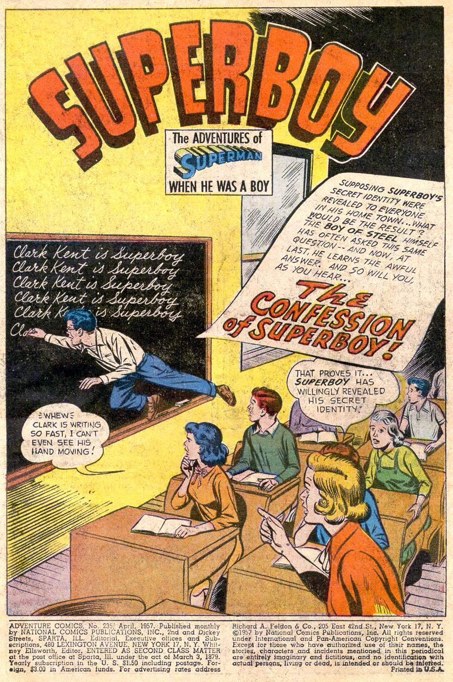 Read online Adventure Comics (1938) comic -  Issue #235 - 3