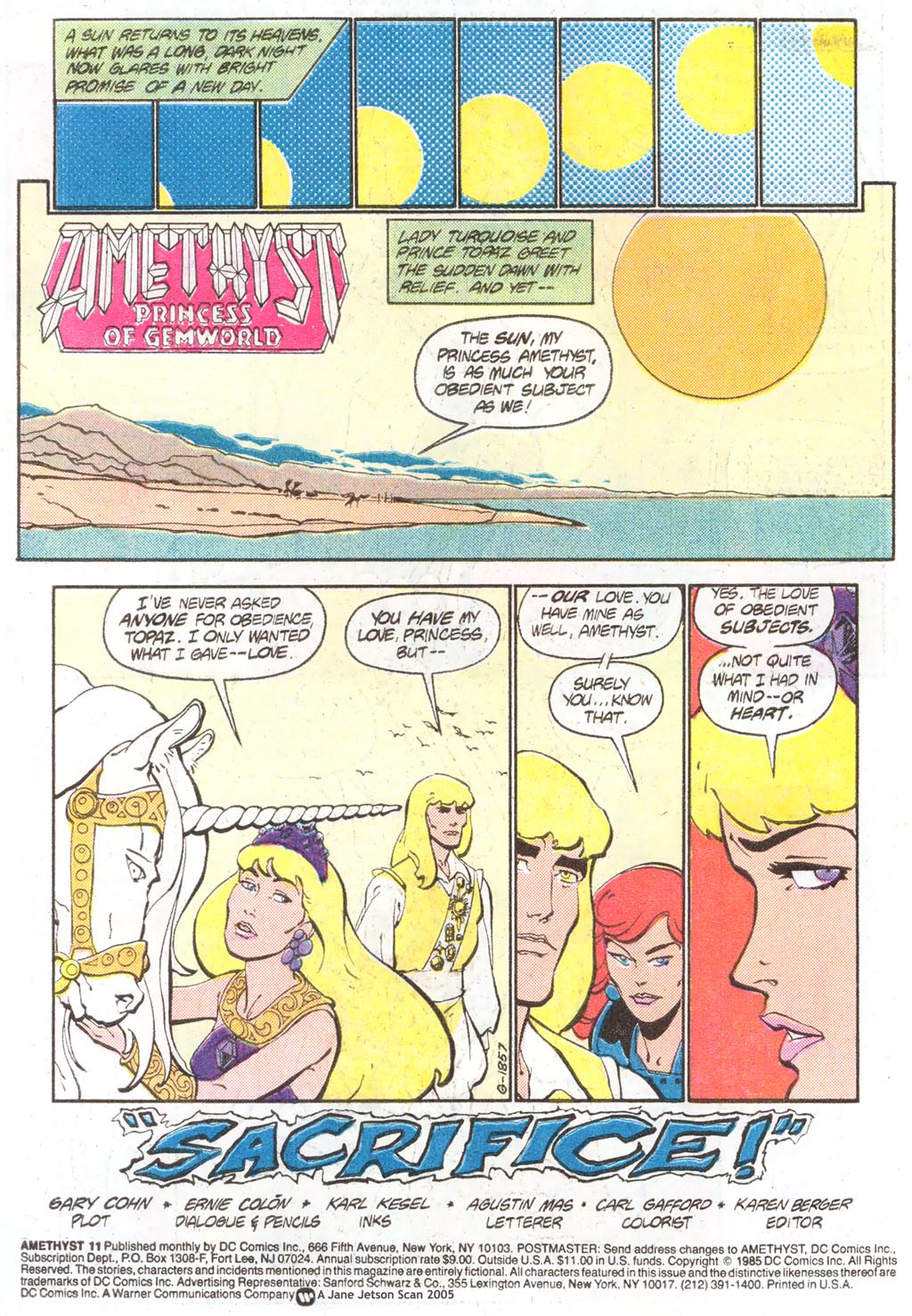 Read online Amethyst (1985) comic -  Issue #11 - 3