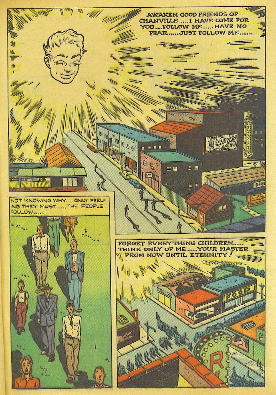 Read online Shadow Comics comic -  Issue #87 - 36