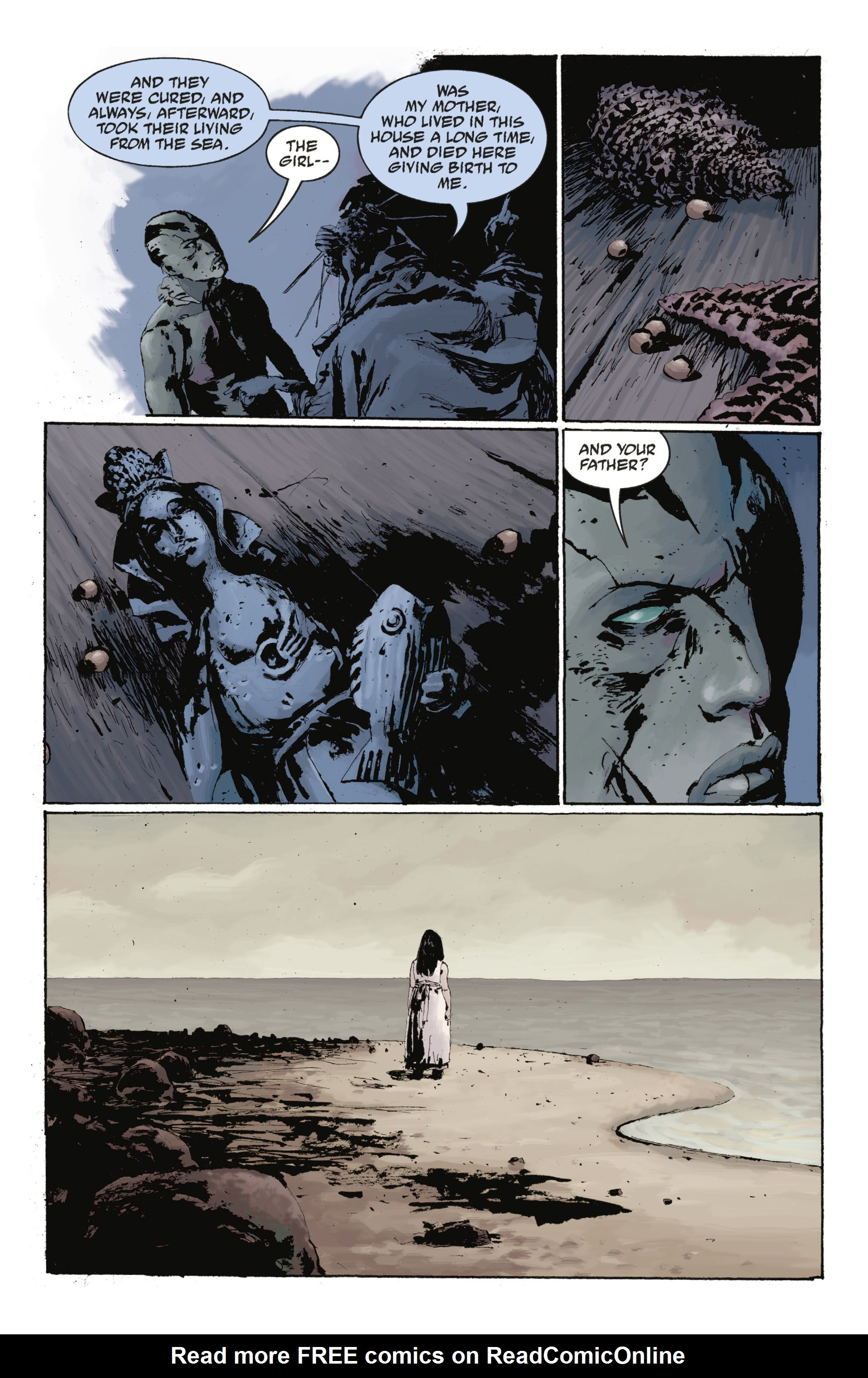 Read online Abe Sapien: The Drowning comic -  Issue #Abe Sapien: The Drowning _TPB - 98