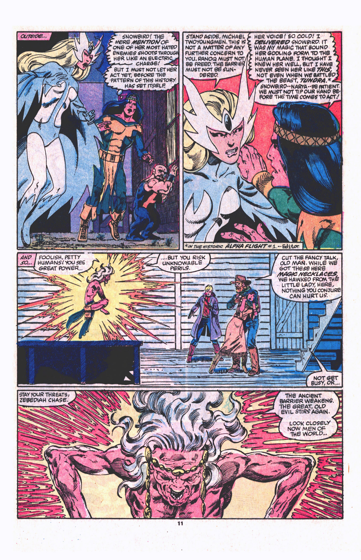 Read online Alpha Flight (1983) comic -  Issue #19 - 12