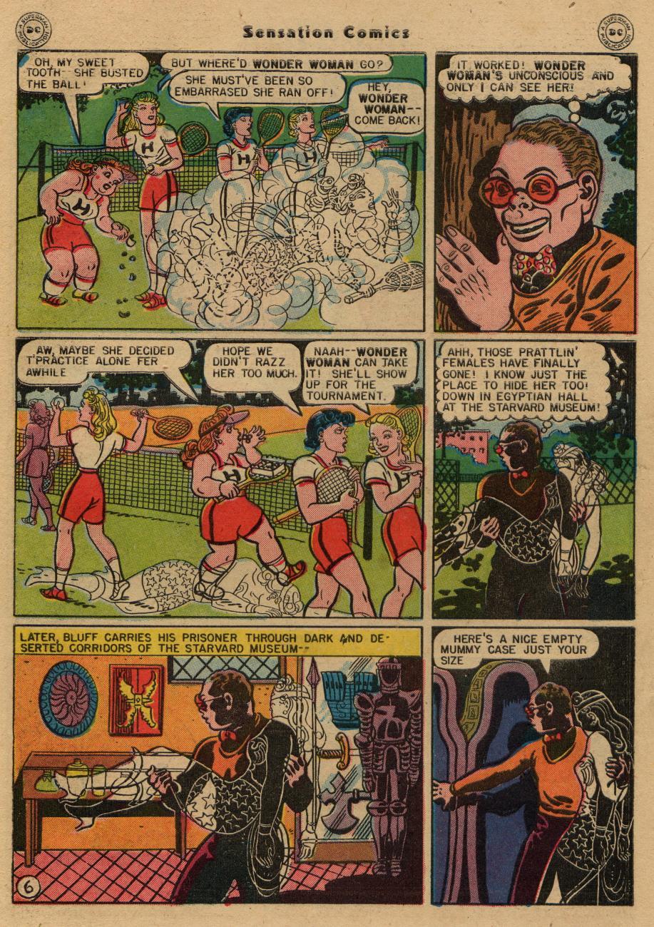 Read online Sensation (Mystery) Comics comic -  Issue #61 - 8