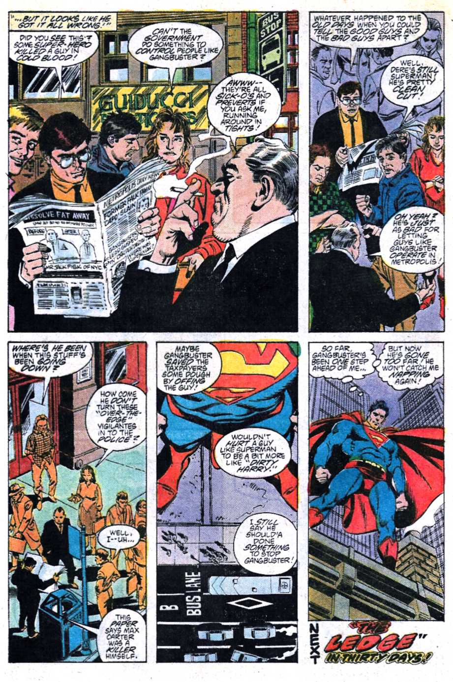 Read online Adventures of Superman (1987) comic -  Issue #447 - 22
