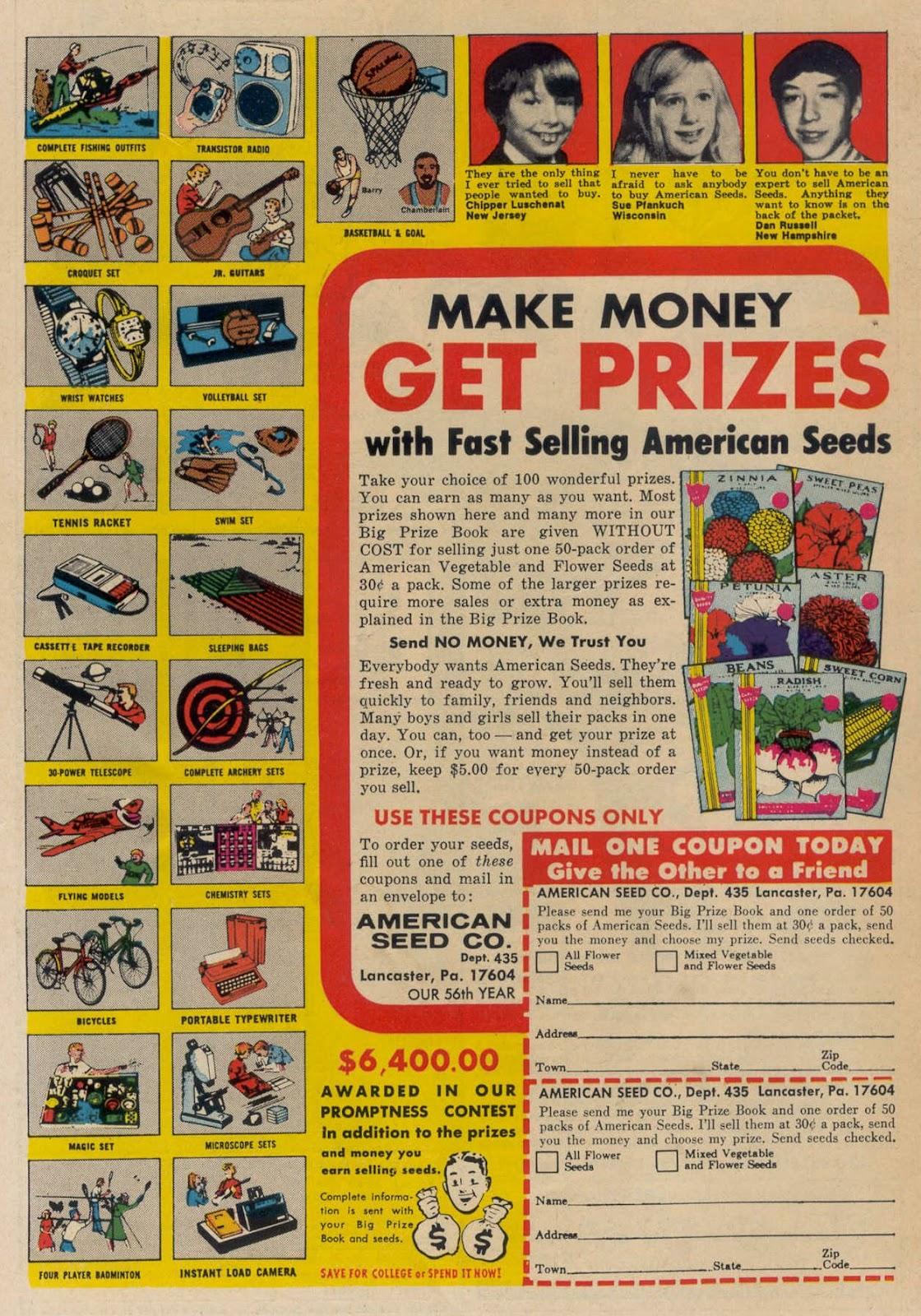 Read online Strange Sports Stories (1973) comic -  Issue #5 - 35