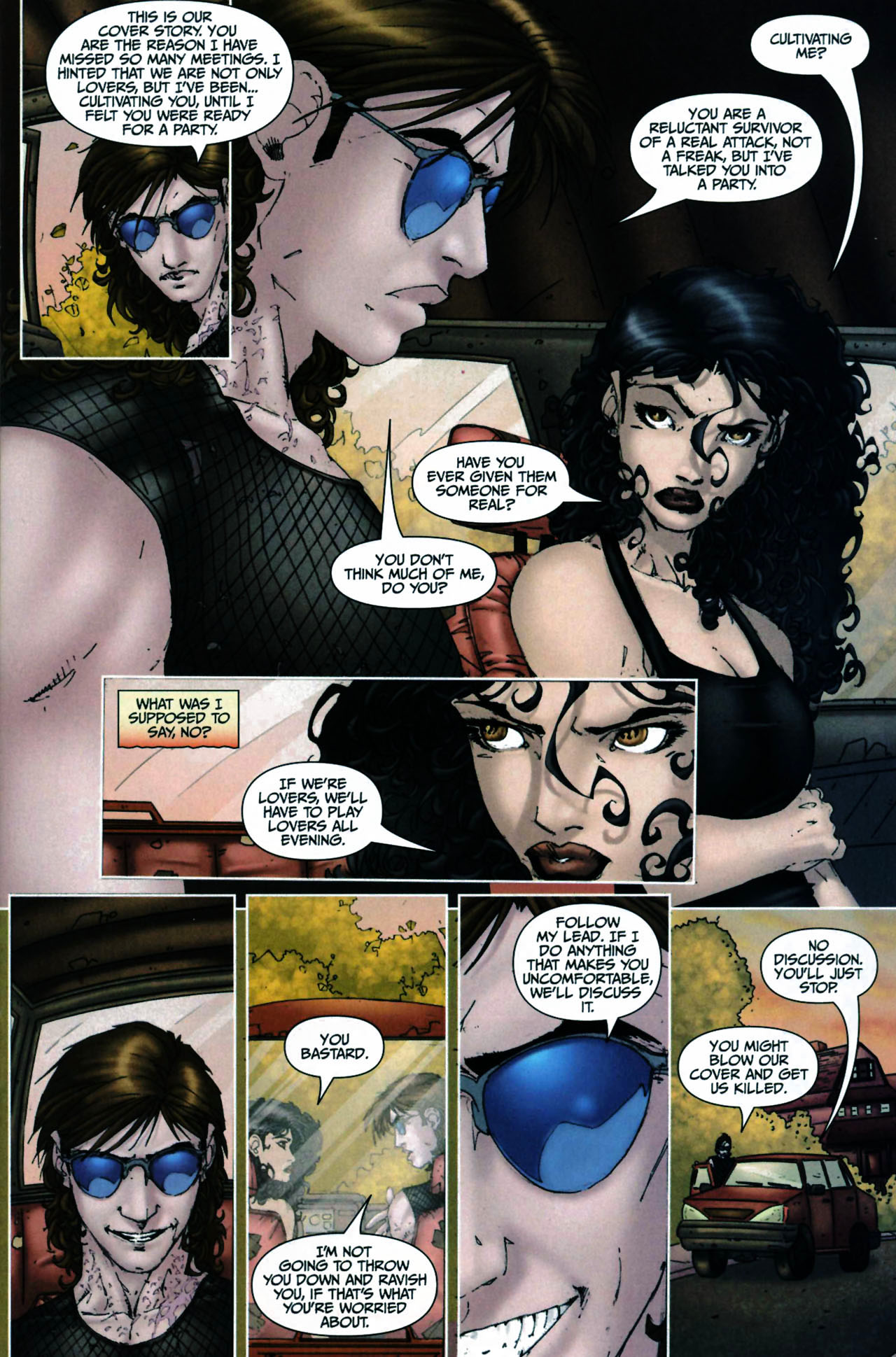 Read online Anita Blake, Vampire Hunter: Guilty Pleasures comic -  Issue #6 - 15
