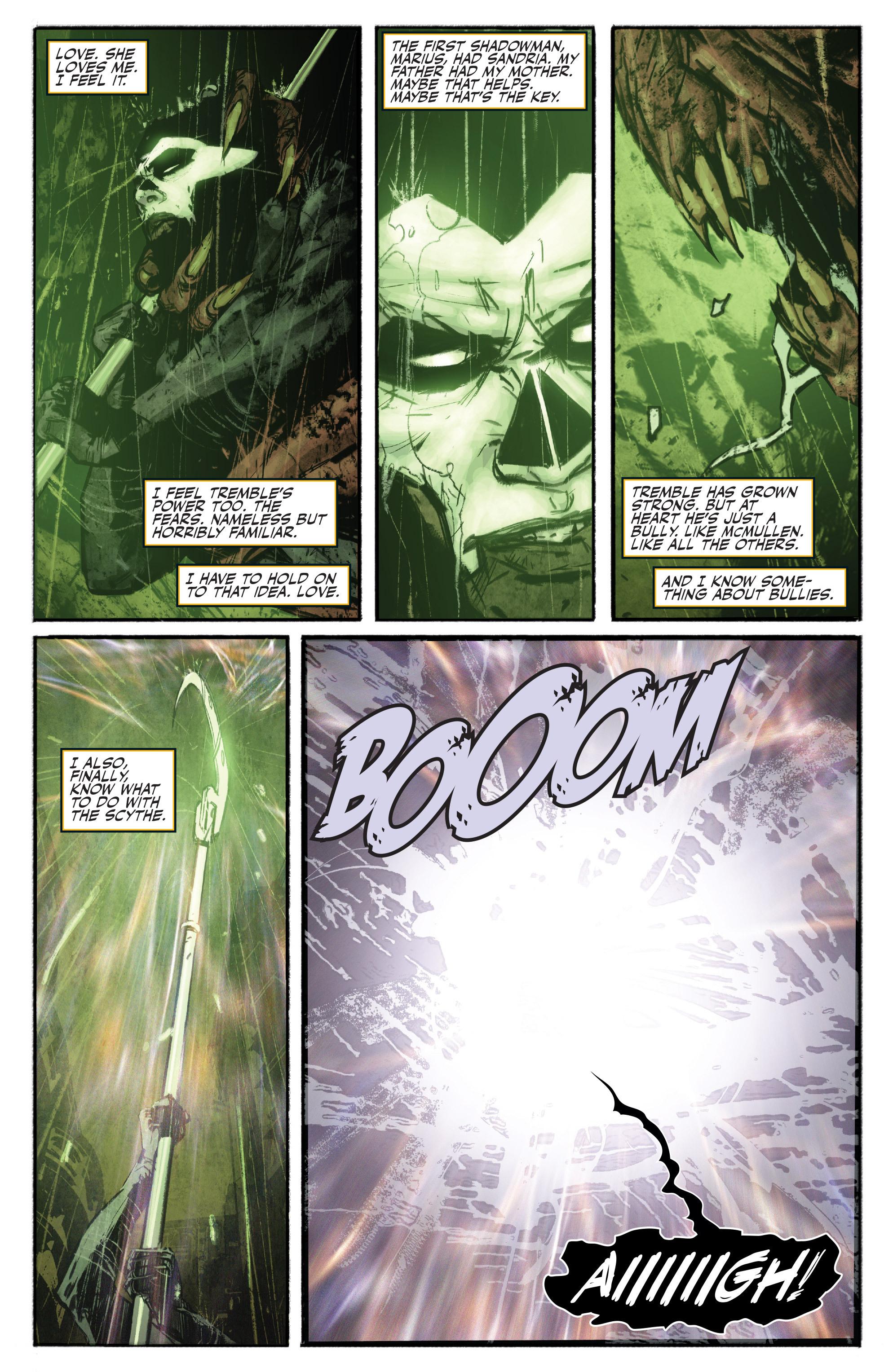 Read online Shadowman (2012) comic -  Issue #16 - 17