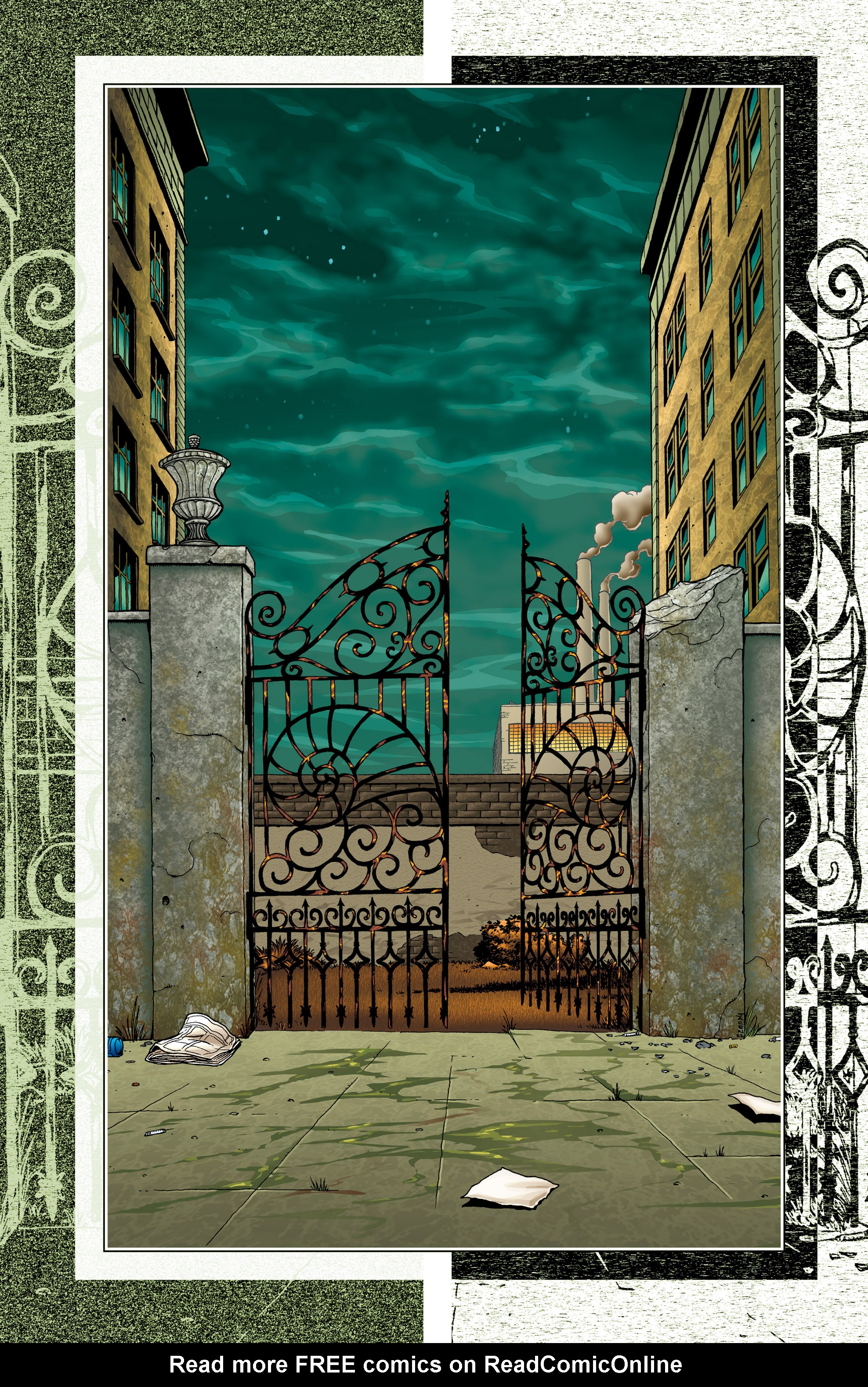 Read online Alan Moore's The Courtyard comic -  Issue # TPB - 52