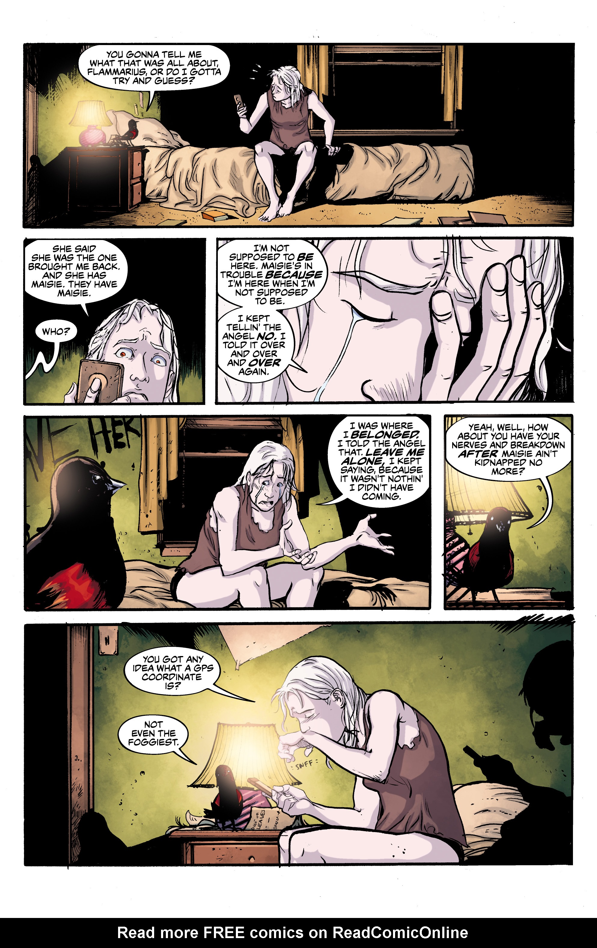 Read online Alabaster: The Good, the Bad and the Bird comic -  Issue #4 - 14