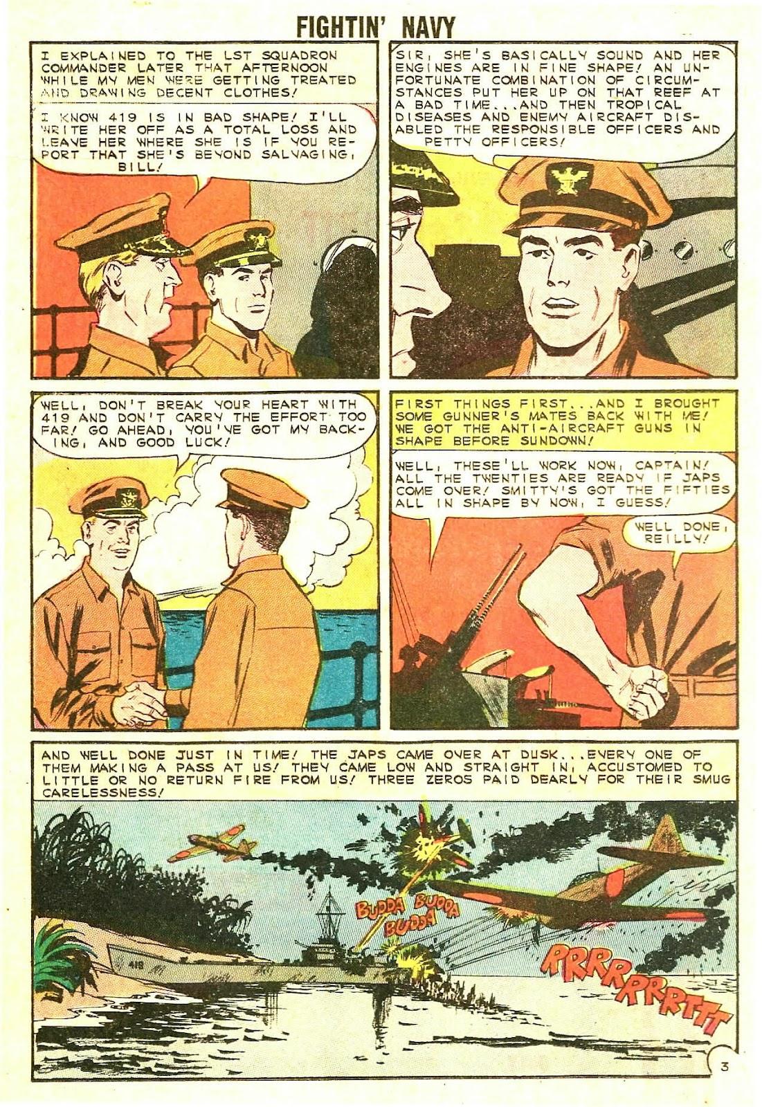 Read online Fightin' Navy comic -  Issue #114 - 16