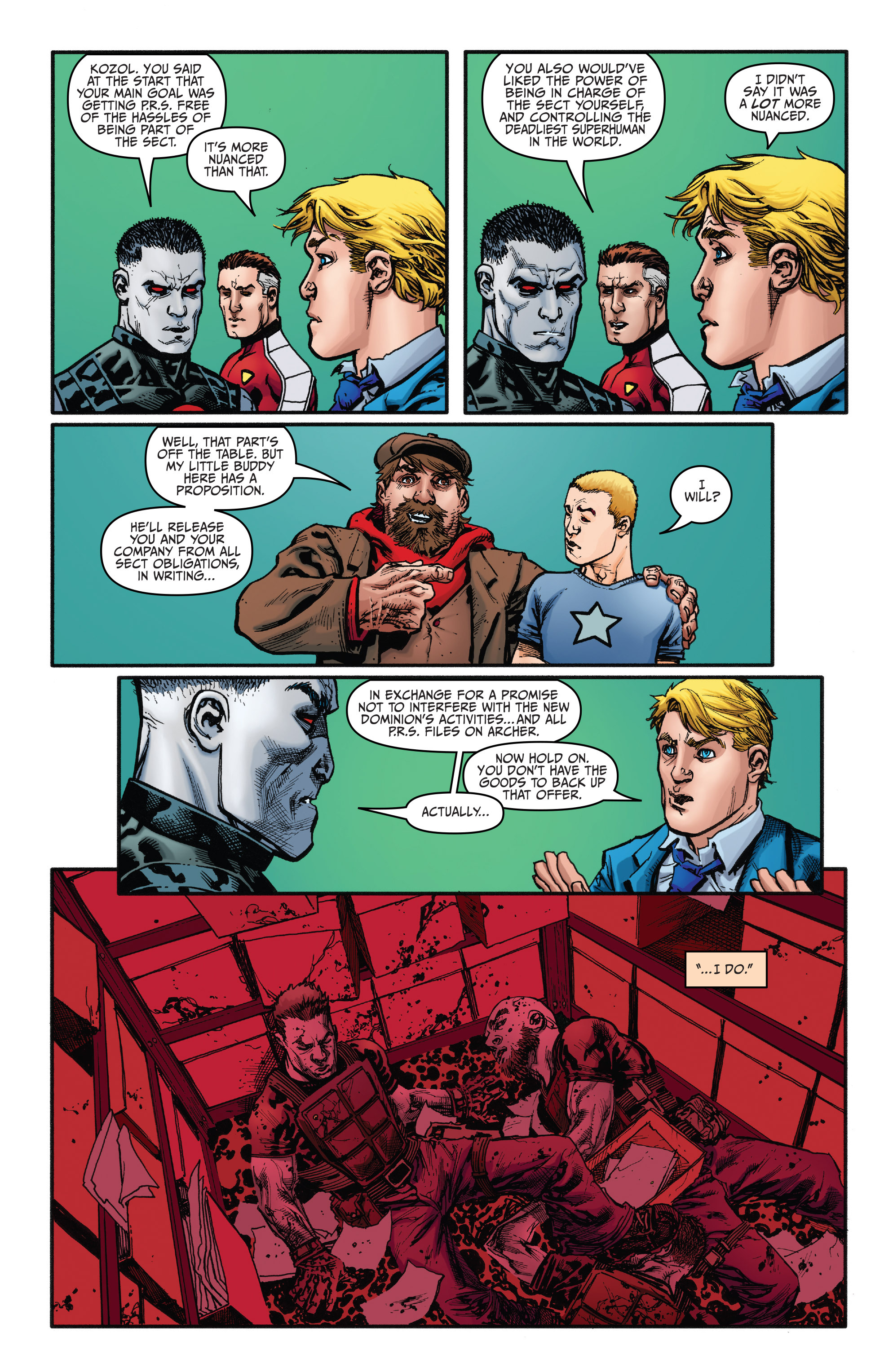 Read online Bloodshot and H.A.R.D.Corps comic -  Issue #21 - 15