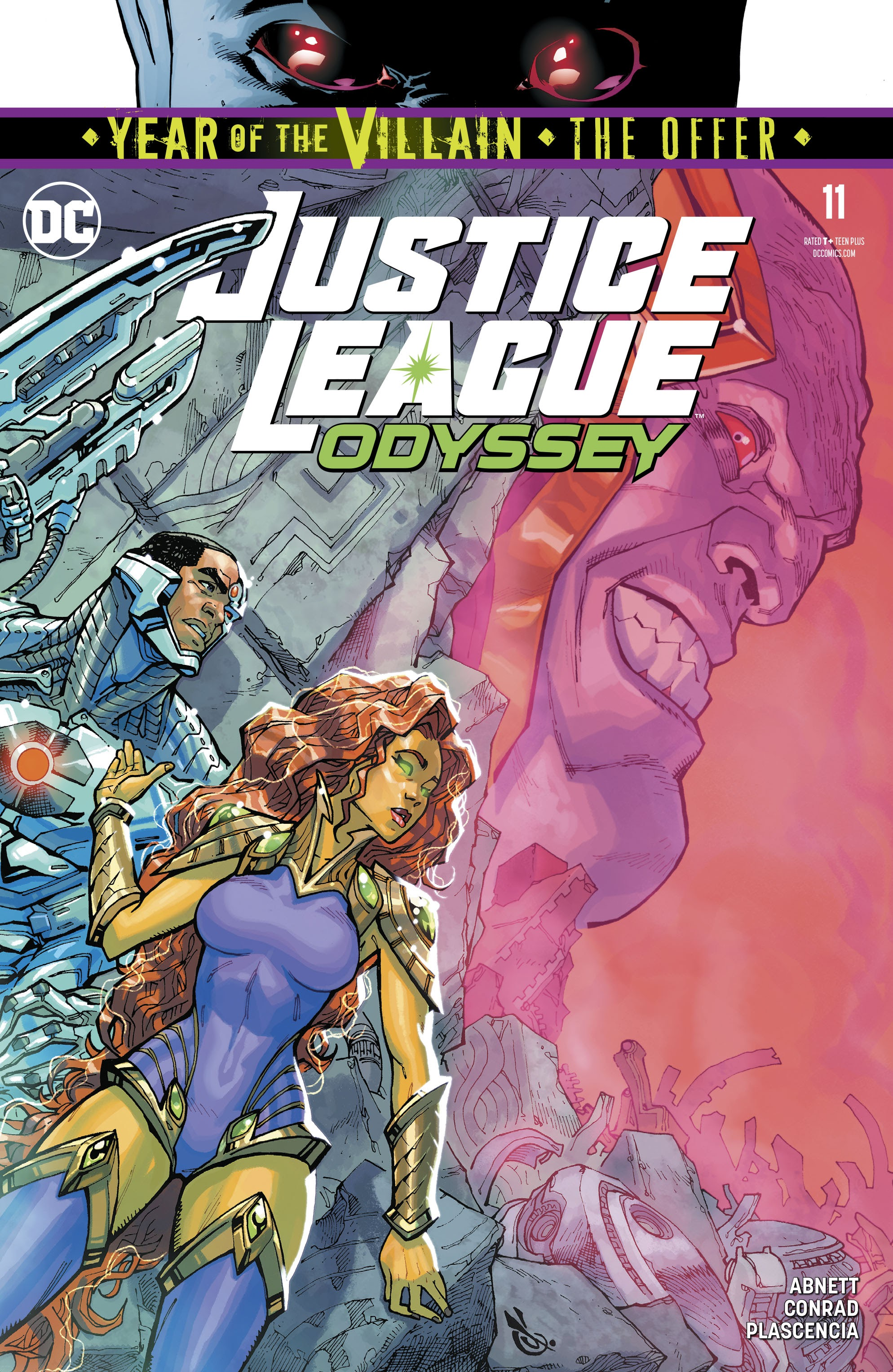 Justice League Odyssey 11 Page 1