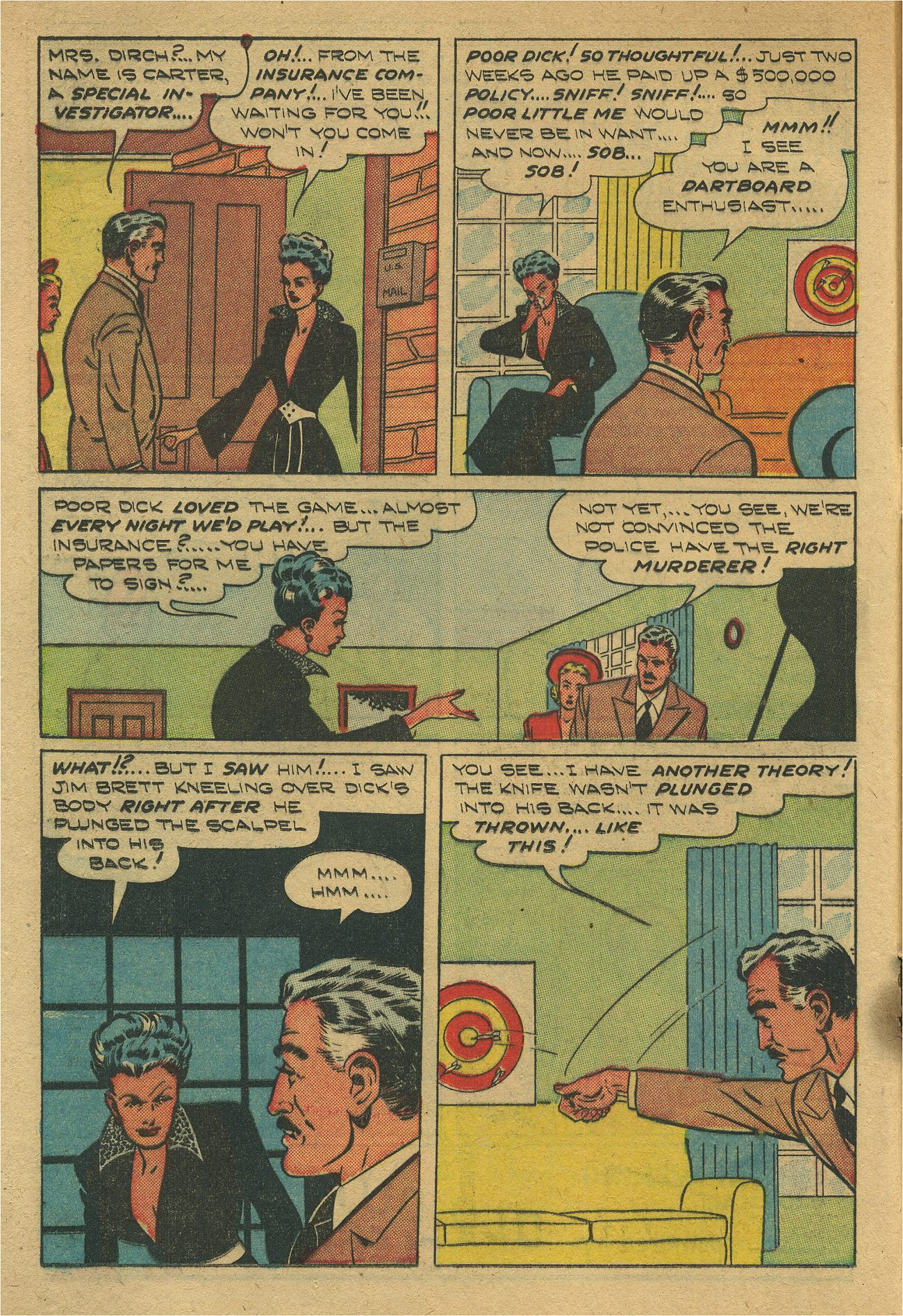 Read online Shadow Comics comic -  Issue #93 - 19