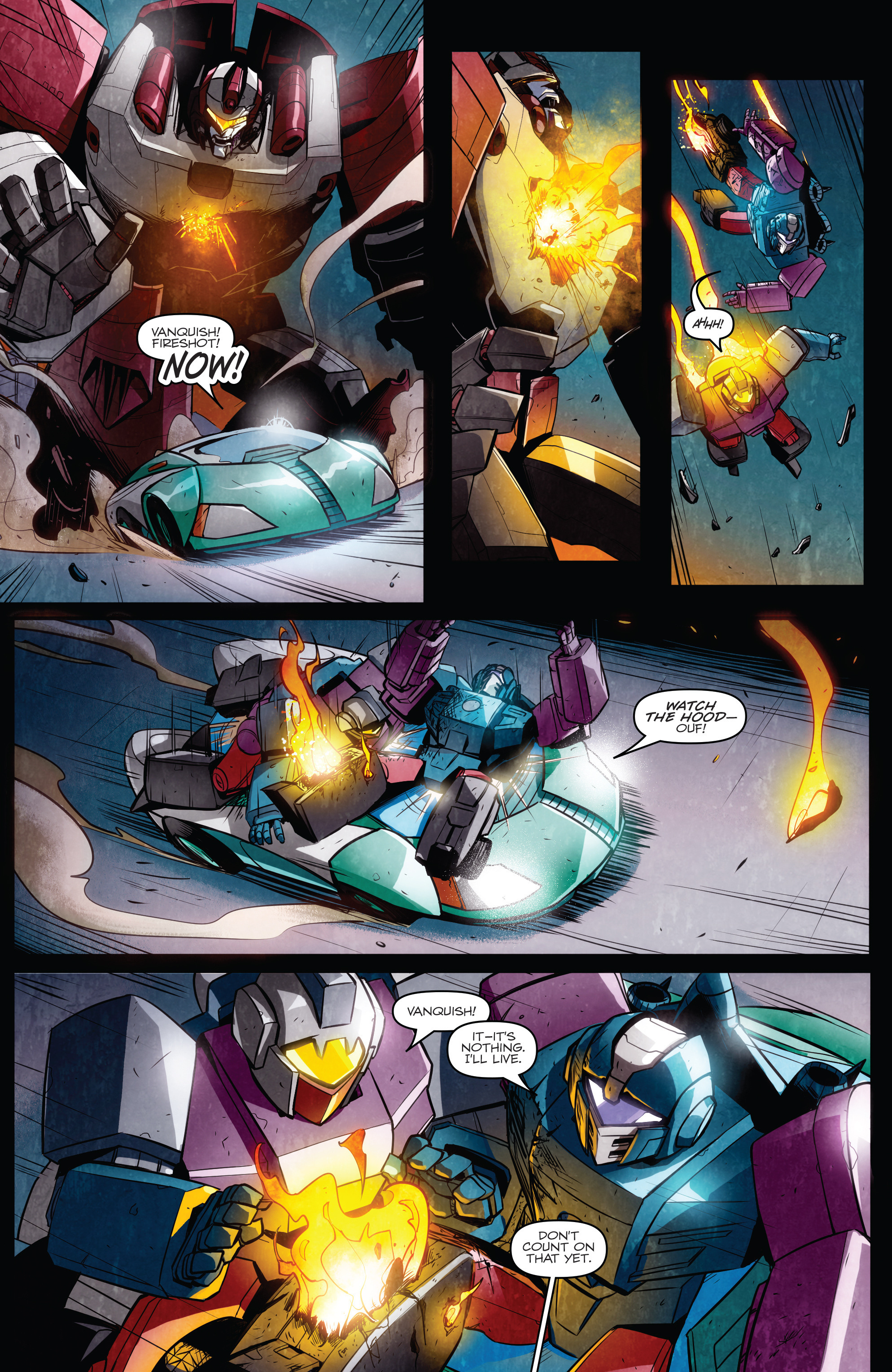 Read online Transformers: Till All Are One comic -  Issue #6 - 8