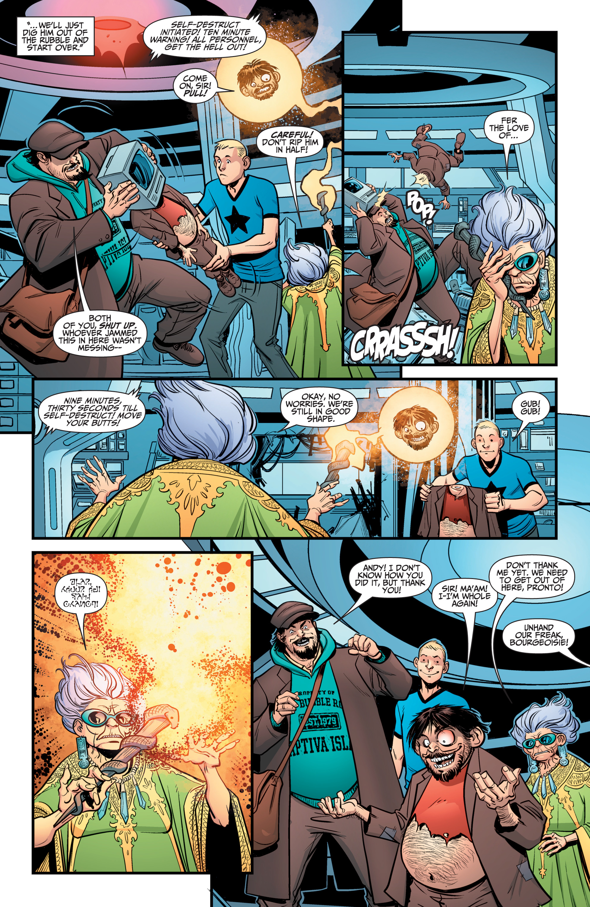 Read online A&A: The Adventures of Archer & Armstrong comic -  Issue #12 - 10