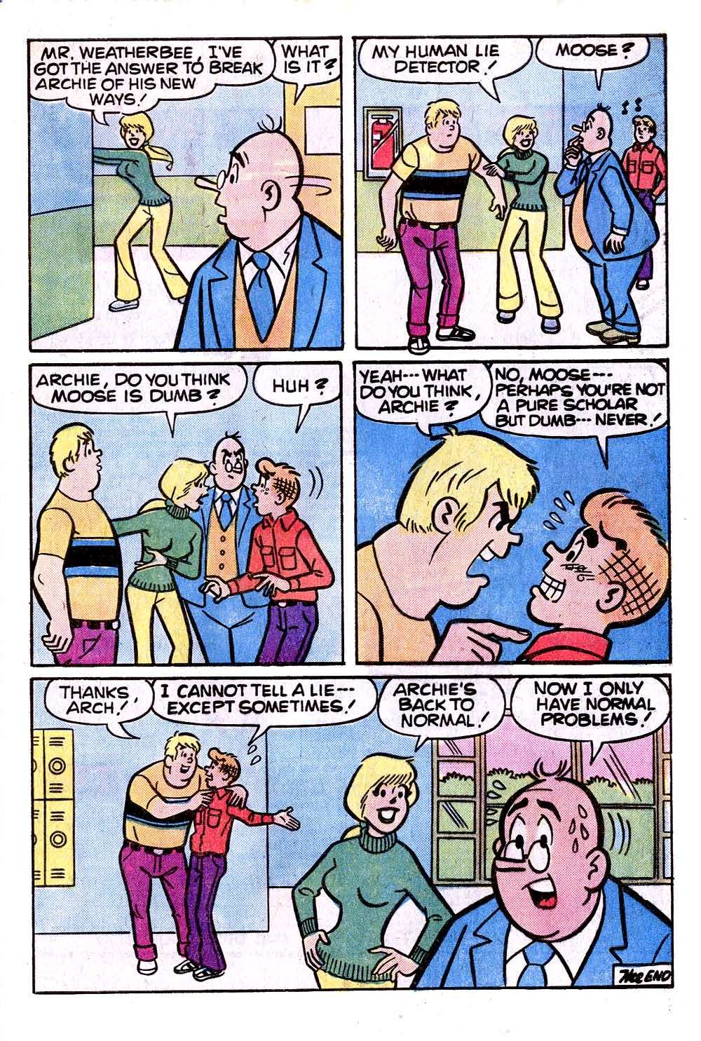 Read online Archie (1960) comic -  Issue #273 - 33