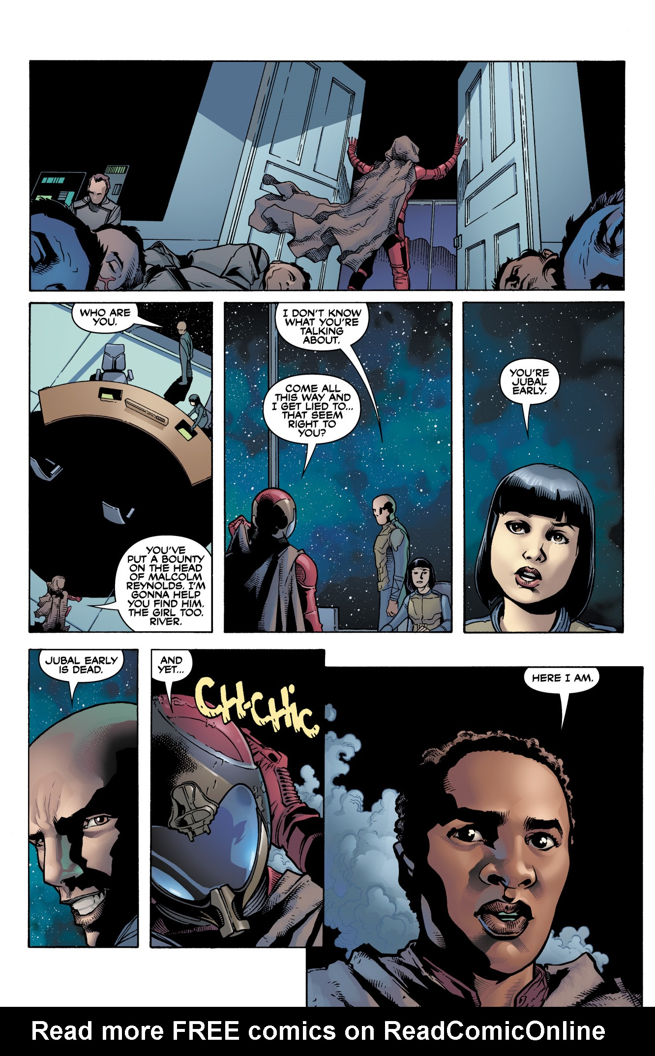 Read online Serenity: Firefly Class 03-K64  Leaves on the Wind comic -  Issue #1 - 22