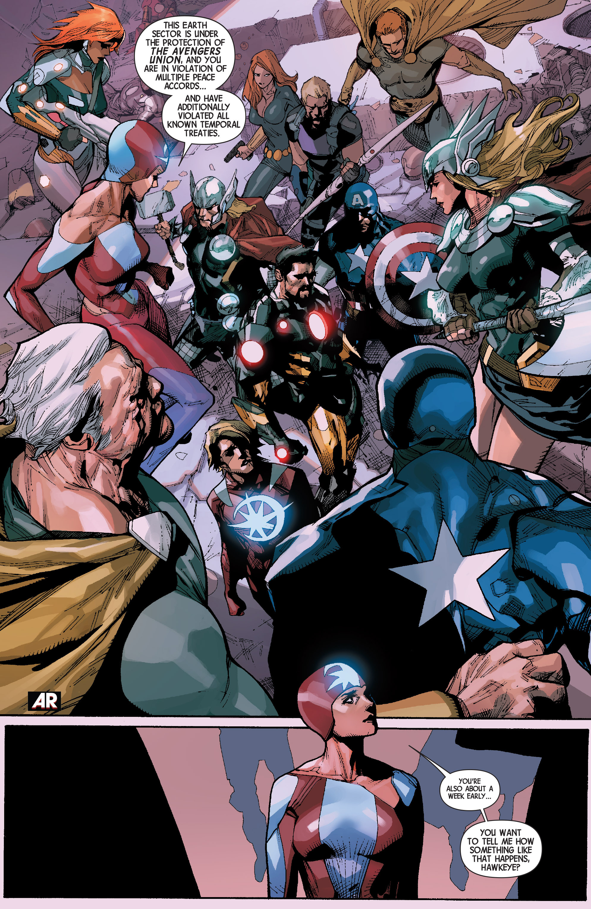 Read online Avengers (2013) comic -  Issue #30 - 10