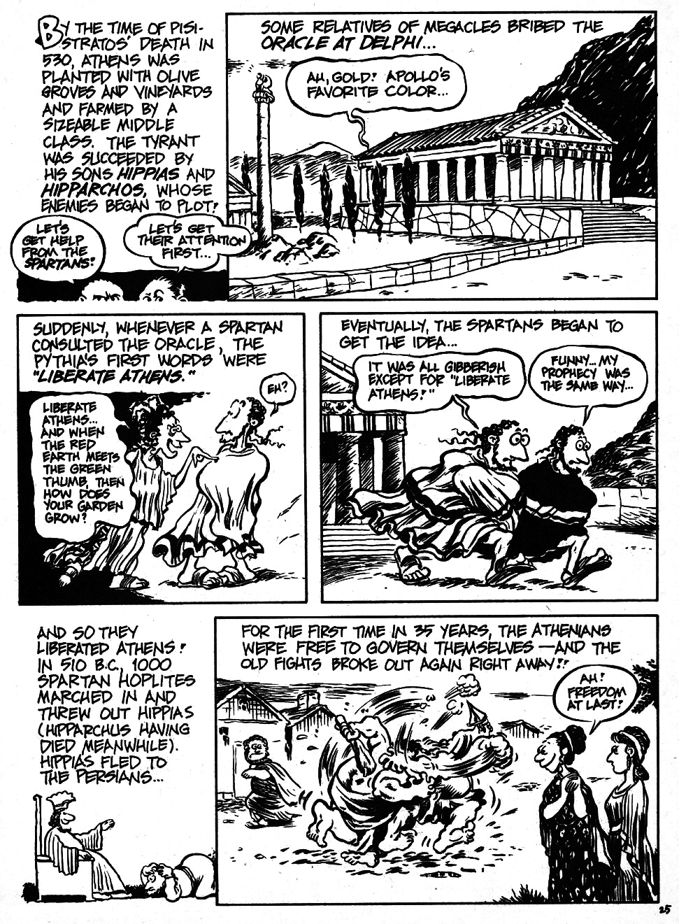Read online The Cartoon History of the Universe comic -  Issue #6 - 27