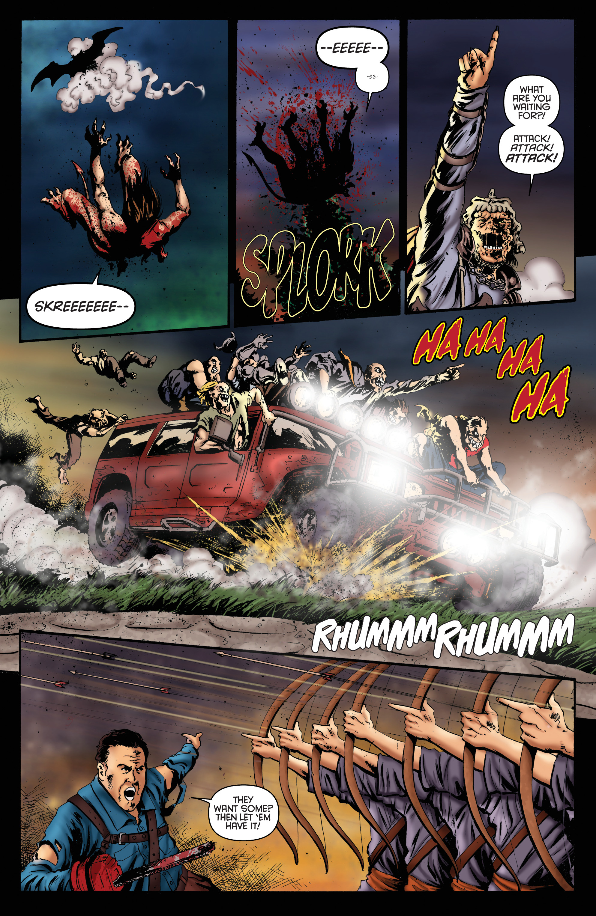 Read online Army of Darkness: Furious Road comic -  Issue #6 - 7