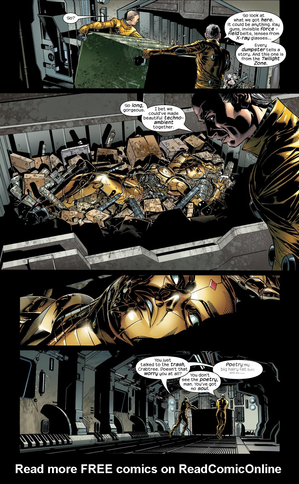 Read online Ultimate Vision comic -  Issue #2 - 7