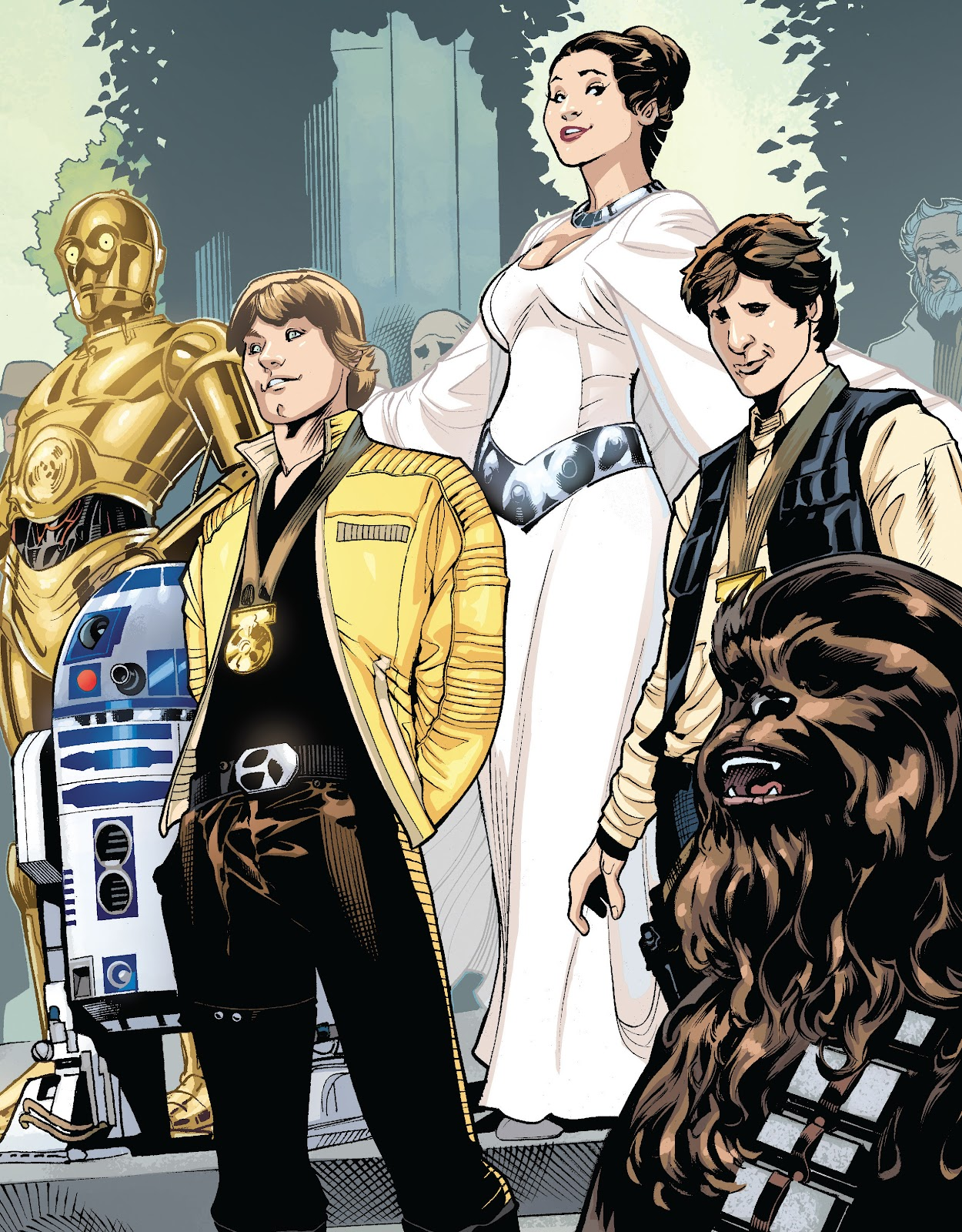 Read online The Marvel Art of Star Wars comic -  Issue # TPB (Part 2) - 28