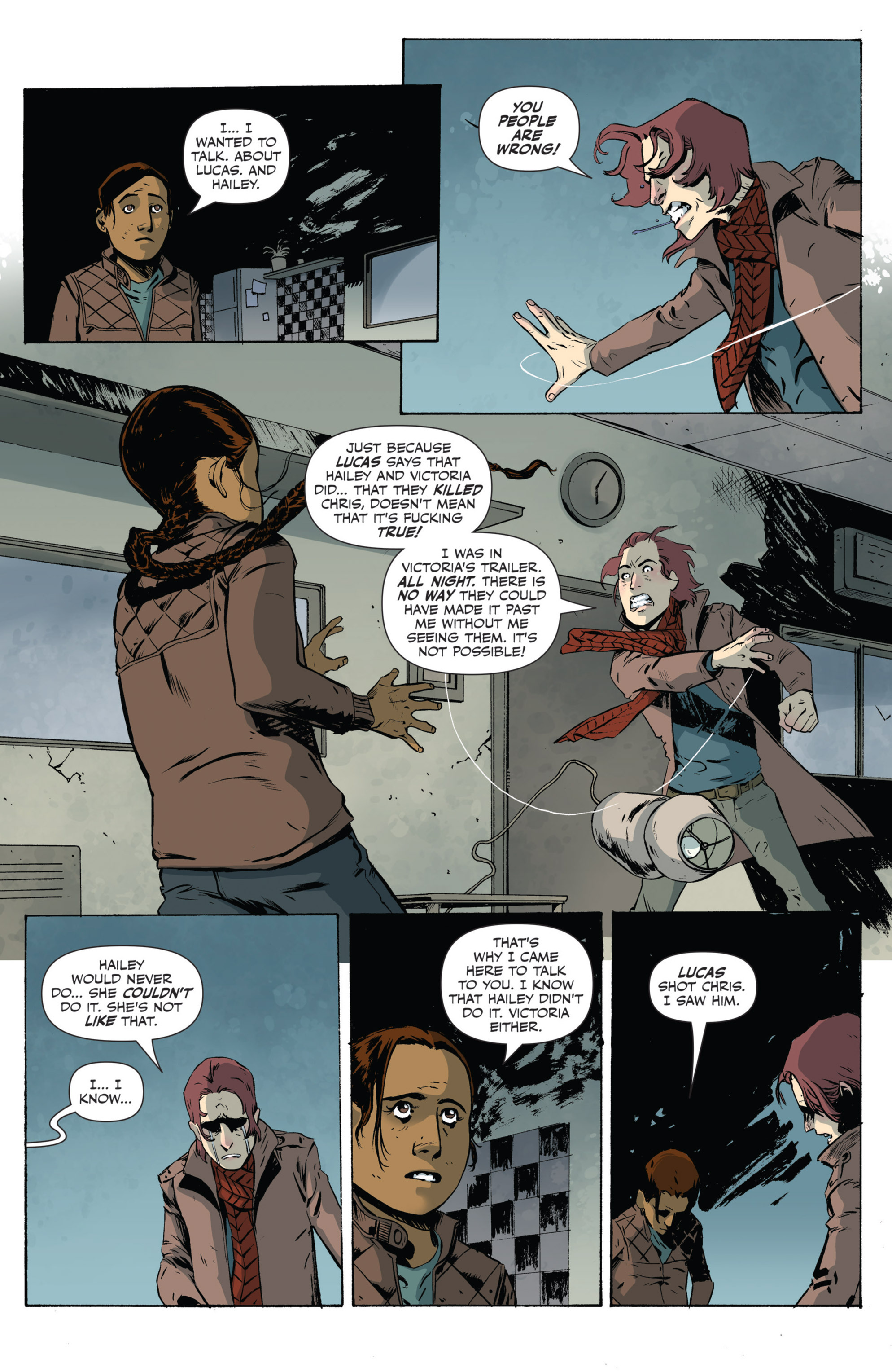 Read online Sheltered comic -  Issue #5 - 8