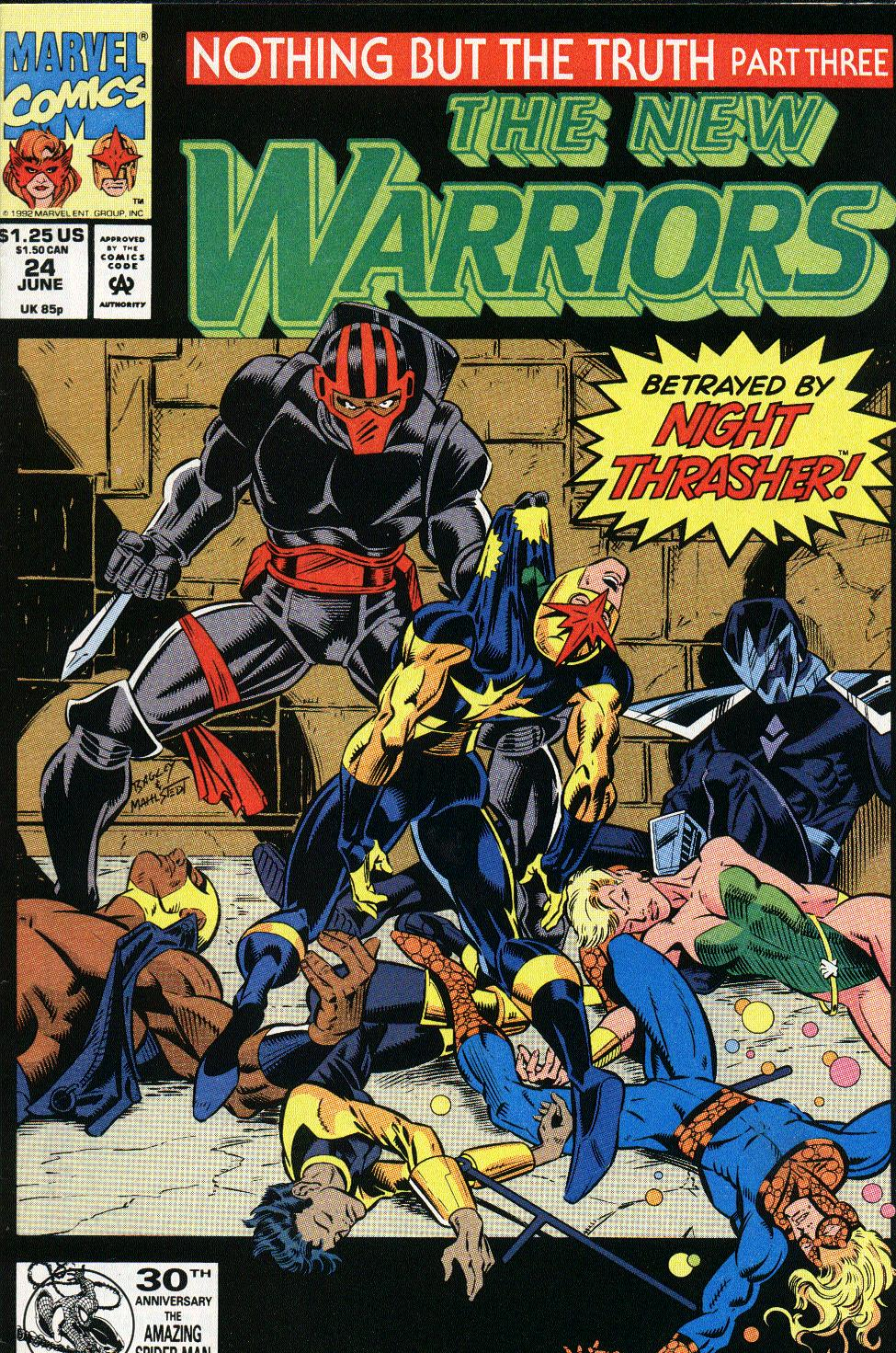 The New Warriors Issue #24 #28 - English 1