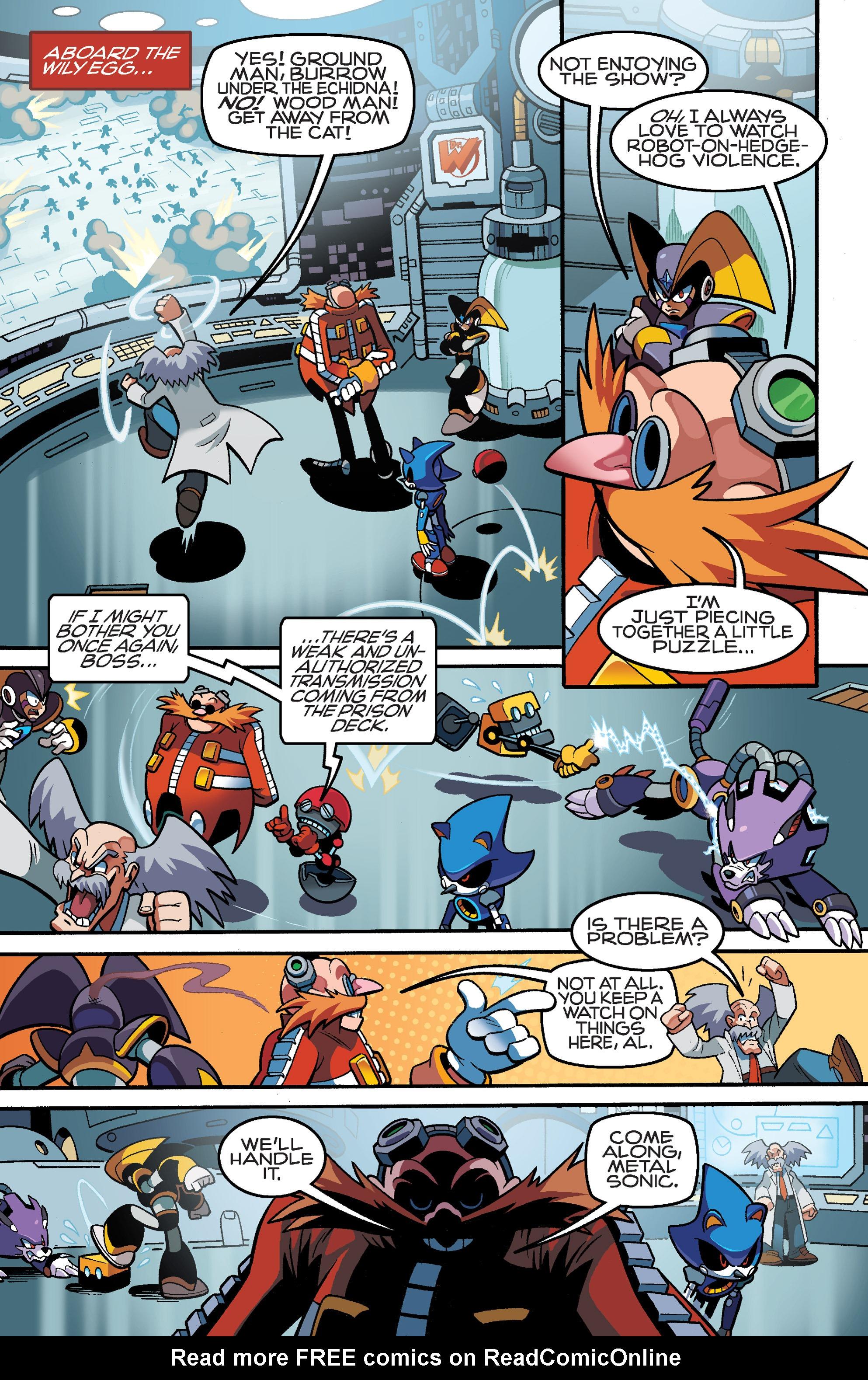 Read online Sonic Mega Man Worlds Collide comic -  Issue # Vol 3 - 26