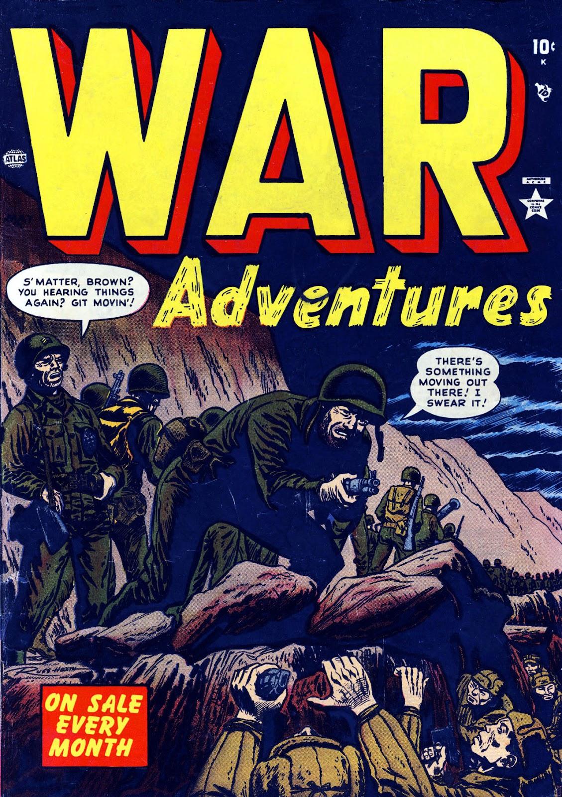 War Adventures 4 Page 1