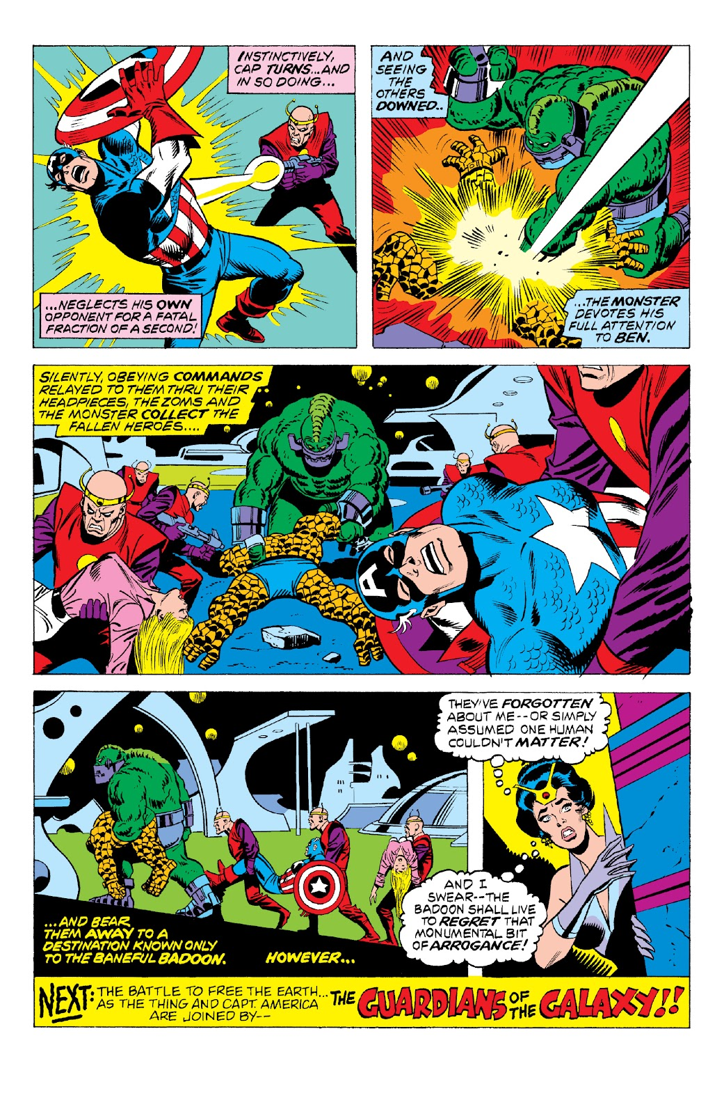 Read online Marvel Two-In-One Epic Collection: Cry Monster comic -  Issue # TPB (Part 2) - 22