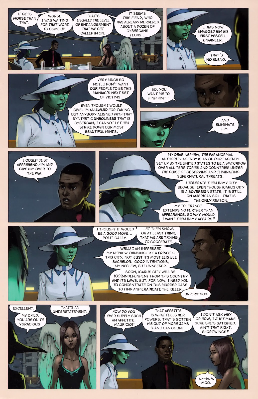 Read online Vescell comic -  Issue #6 - 17