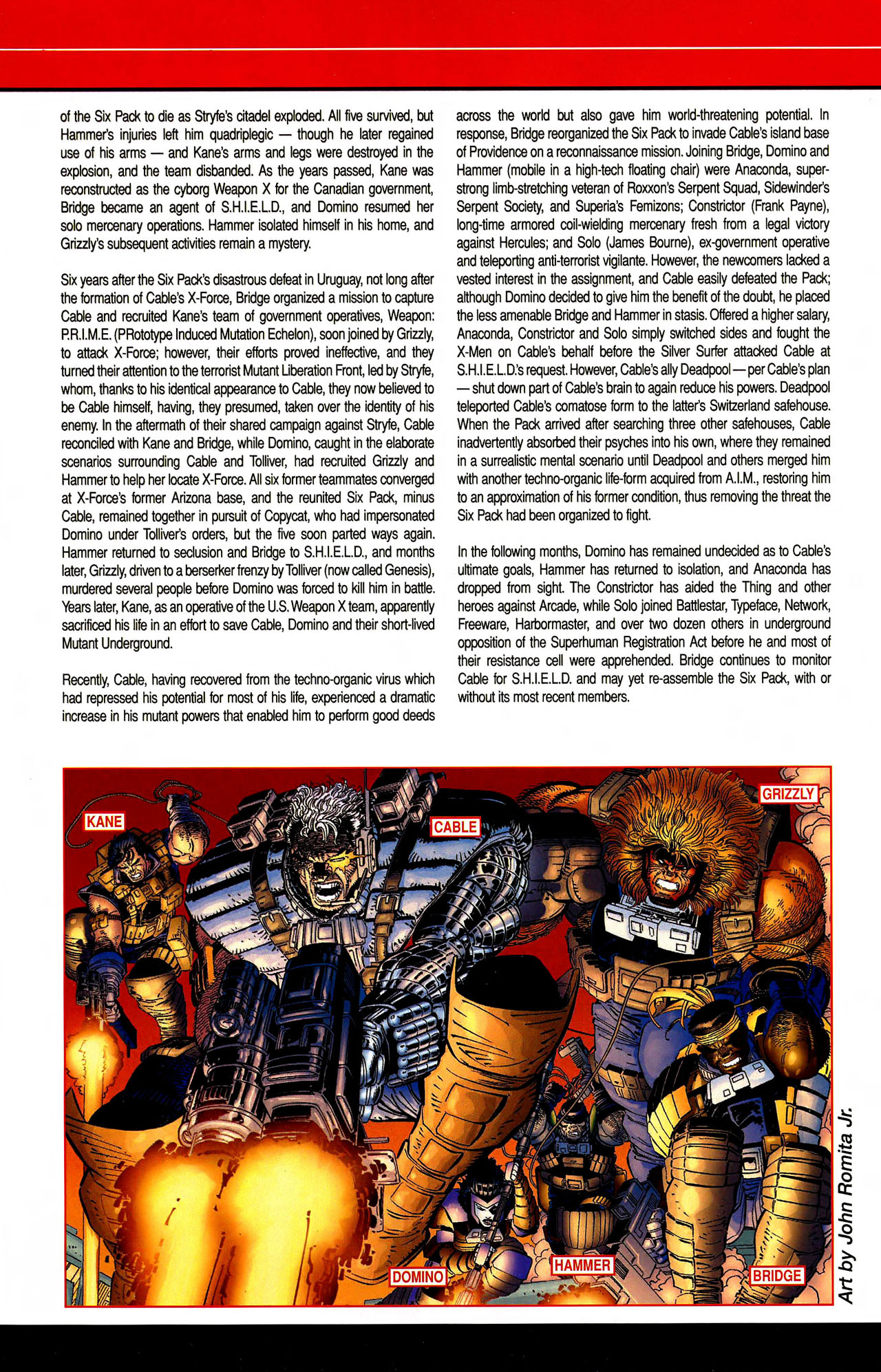 Read online All-New Official Handbook of the Marvel Universe A to Z comic -  Issue #10 - 20