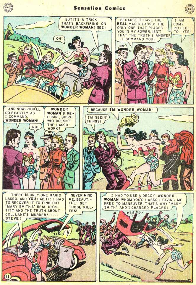 Read online Sensation (Mystery) Comics comic -  Issue #90 - 13