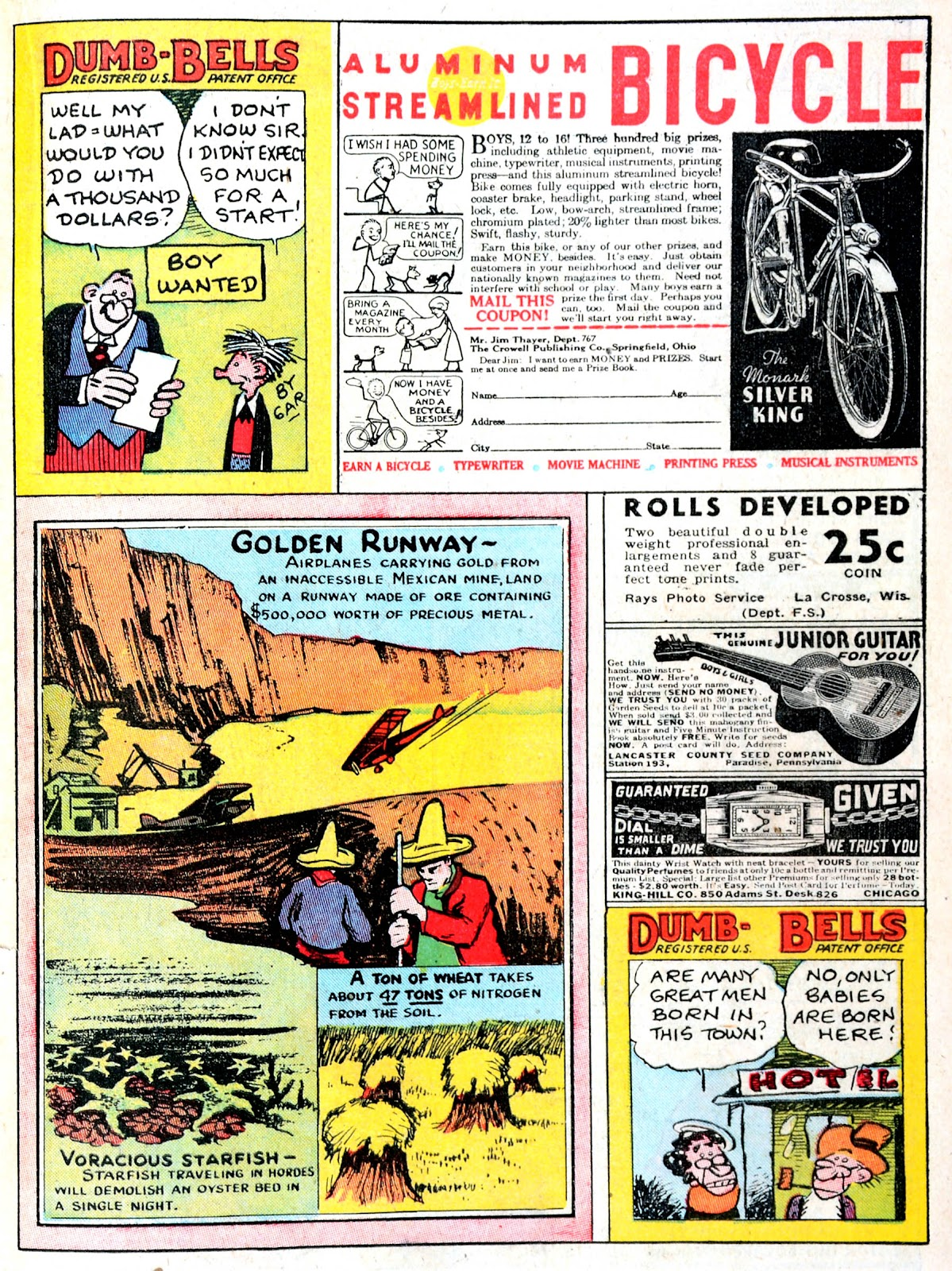 Read online Famous Funnies comic -  Issue #43 - 35