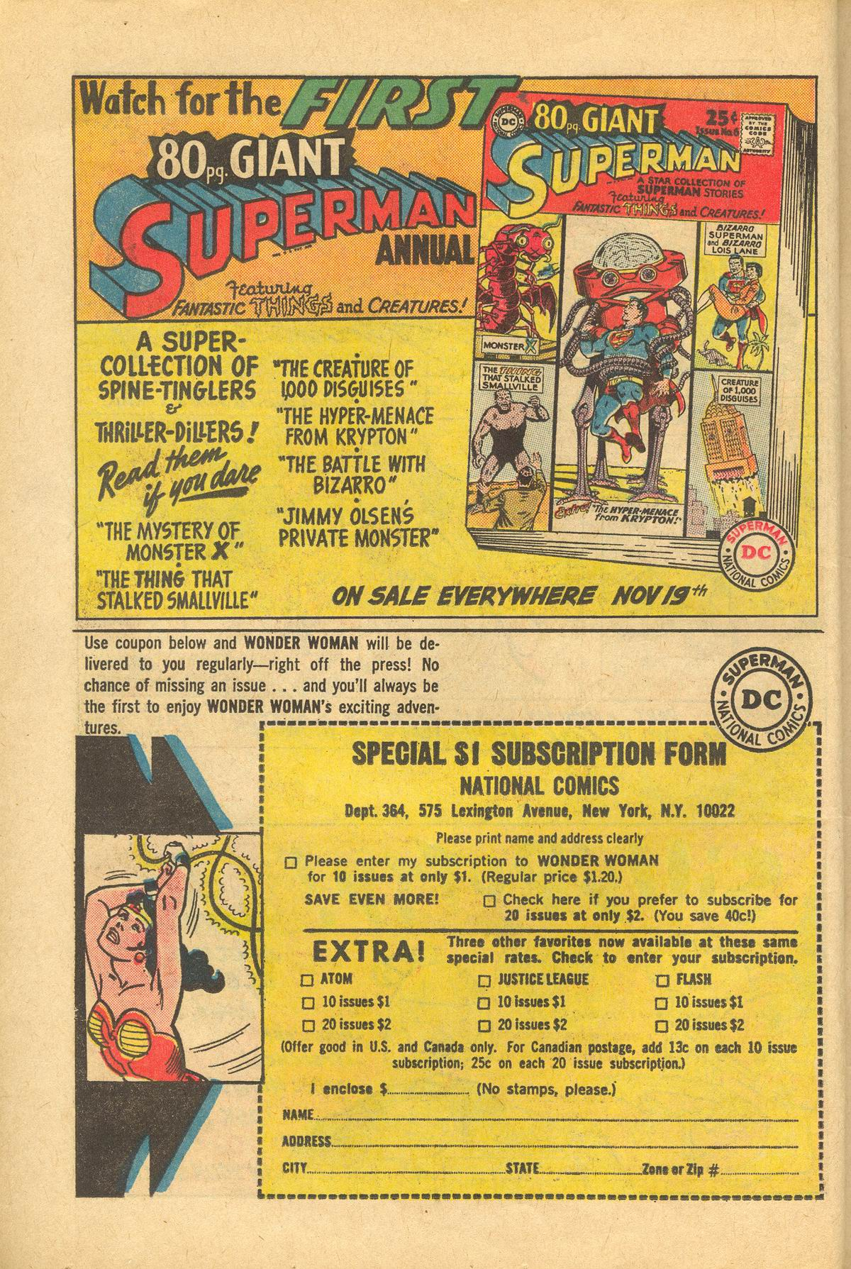 Read online Wonder Woman (1942) comic -  Issue #151 - 10