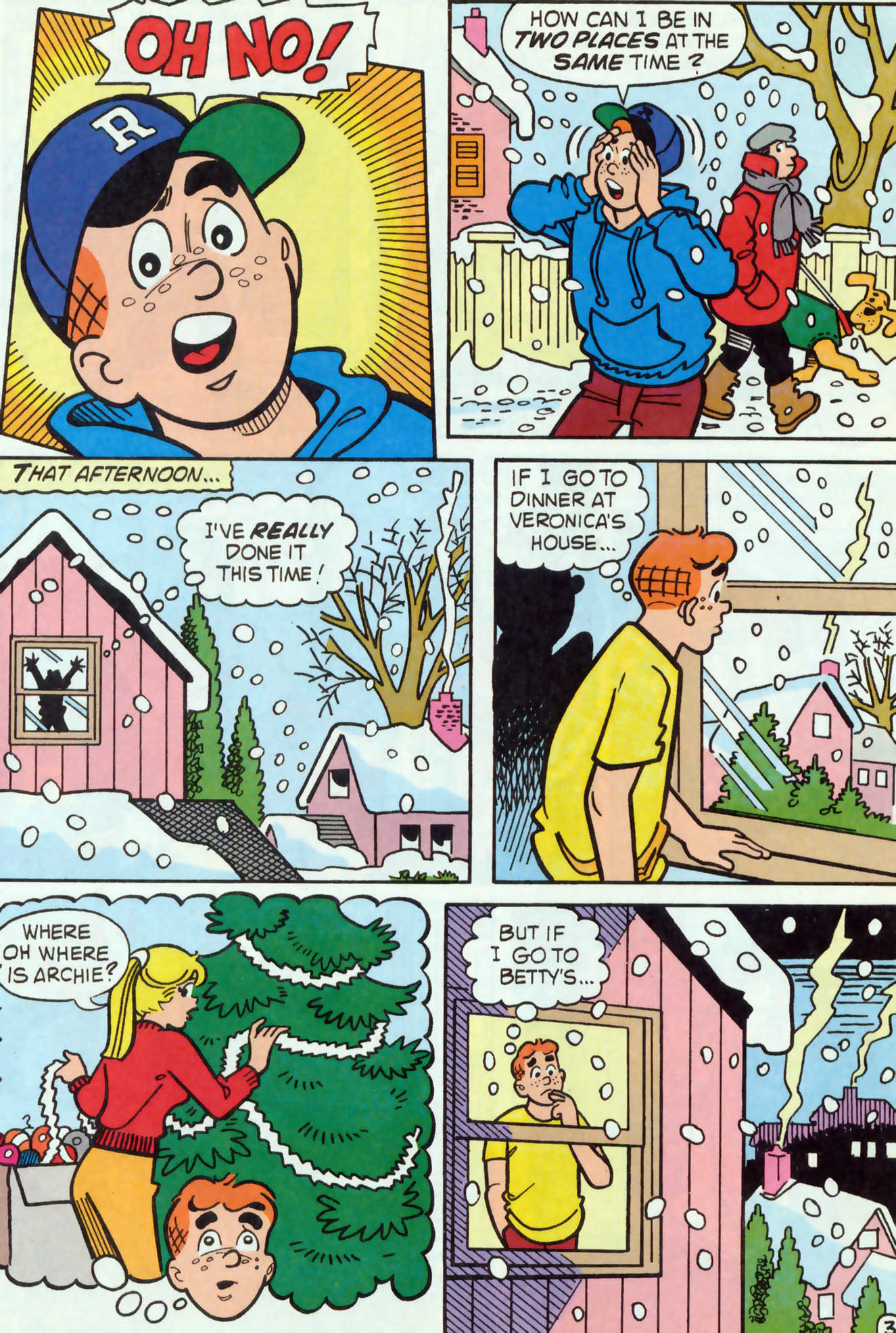 Read online Archie (1960) comic -  Issue #456 - 4