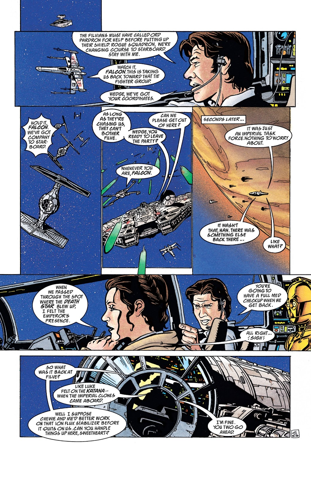 Read online Star Wars Legends: The New Republic - Epic Collection comic -  Issue # TPB 4 (Part 4) - 4