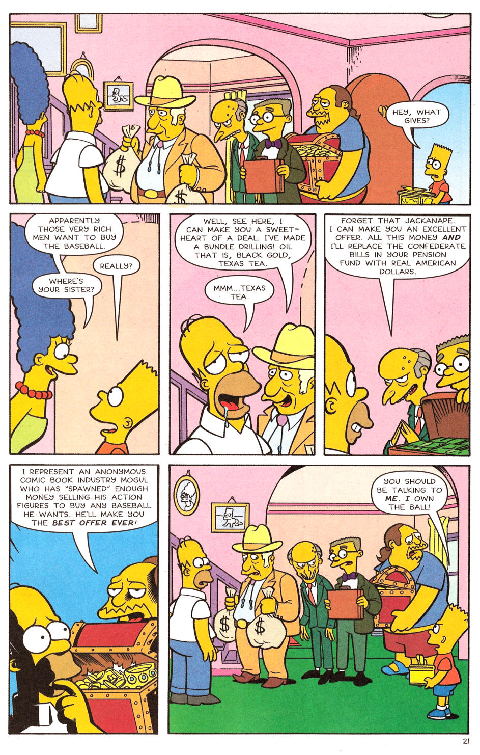 Read online Simpsons Comics comic -  Issue #120 - 17