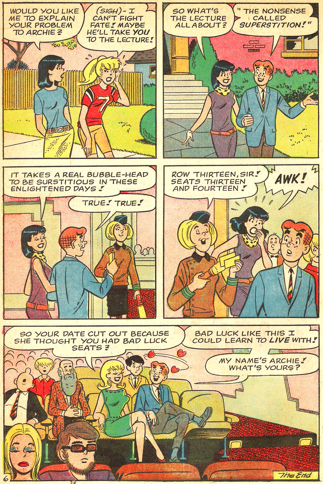Read online Archie's Girls Betty and Veronica comic -  Issue #133 - 18