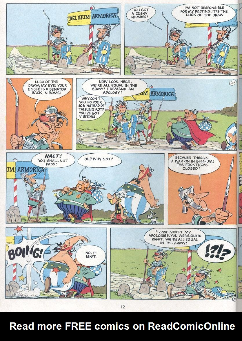 Read online Asterix comic -  Issue #24 - 9