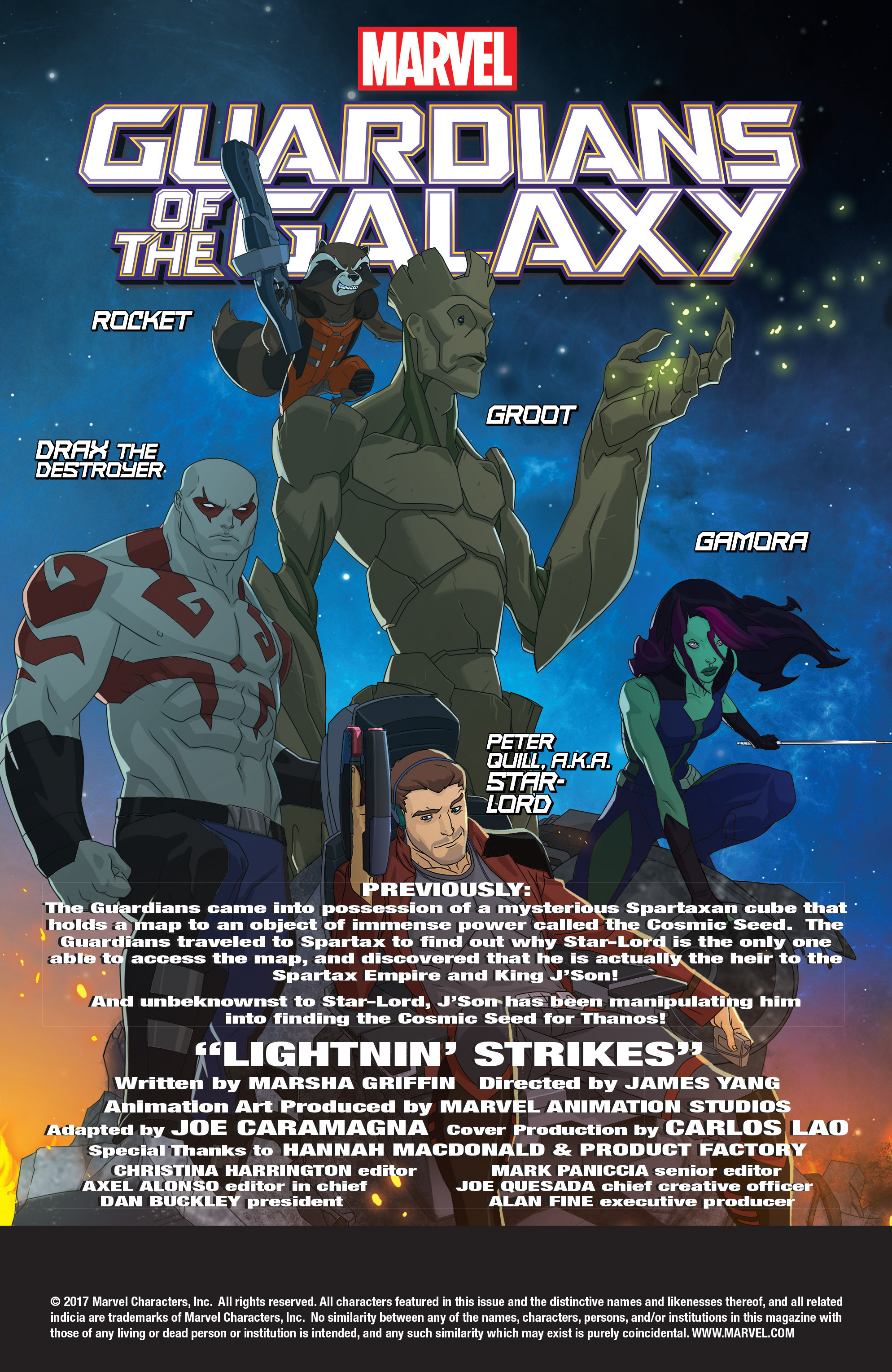 Read online Marvel Universe Guardians of the Galaxy [II] comic -  Issue #19 - 2