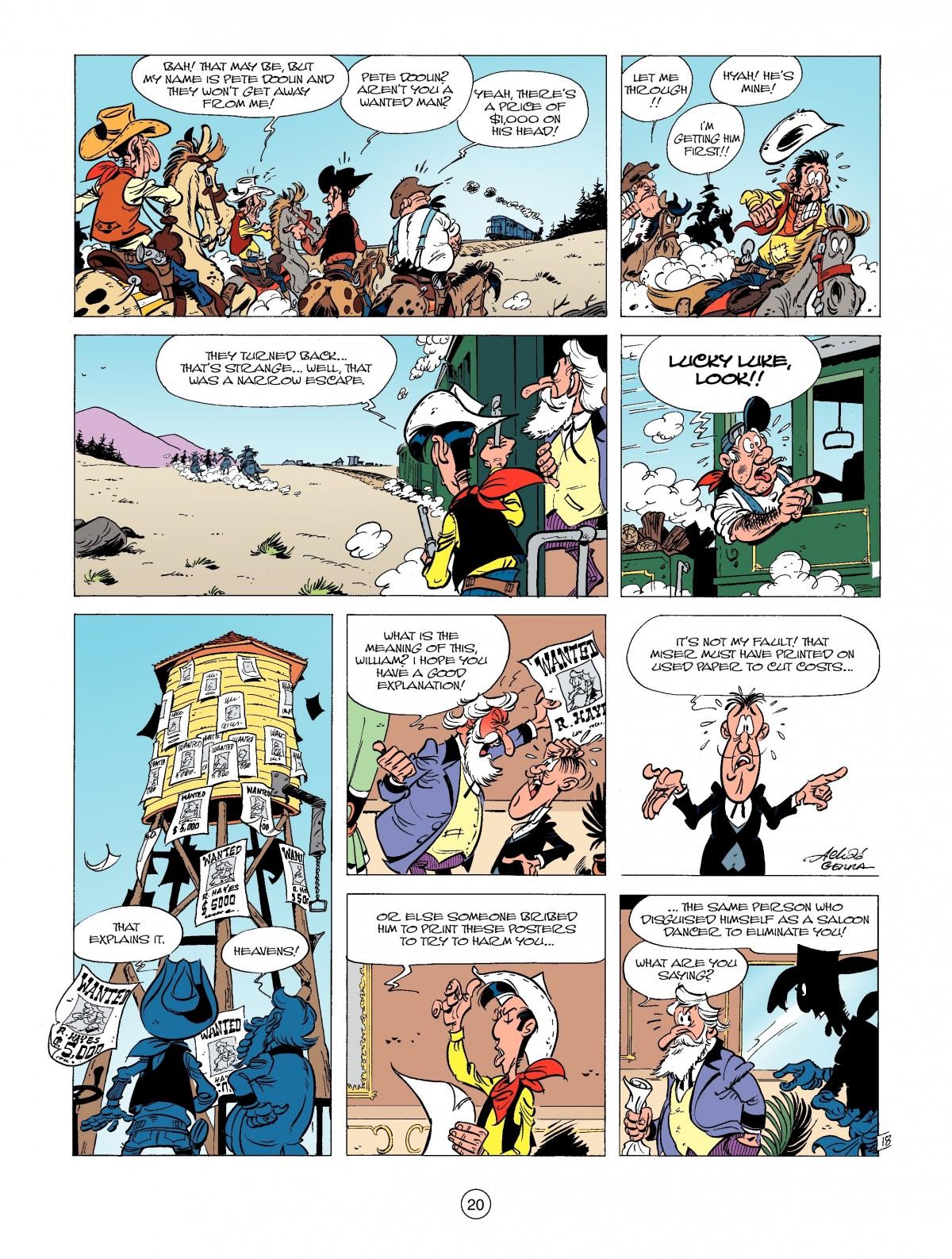 Read online A Lucky Luke Adventure comic -  Issue #39 - 20