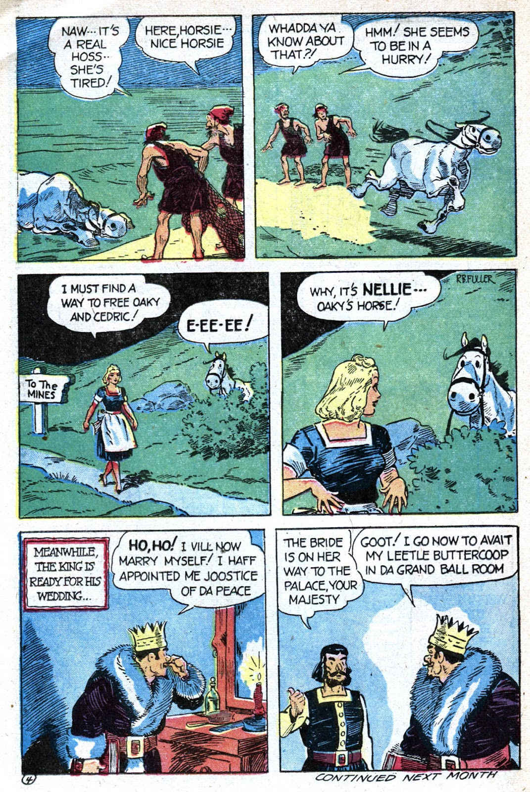 Read online Famous Funnies comic -  Issue #128 - 38